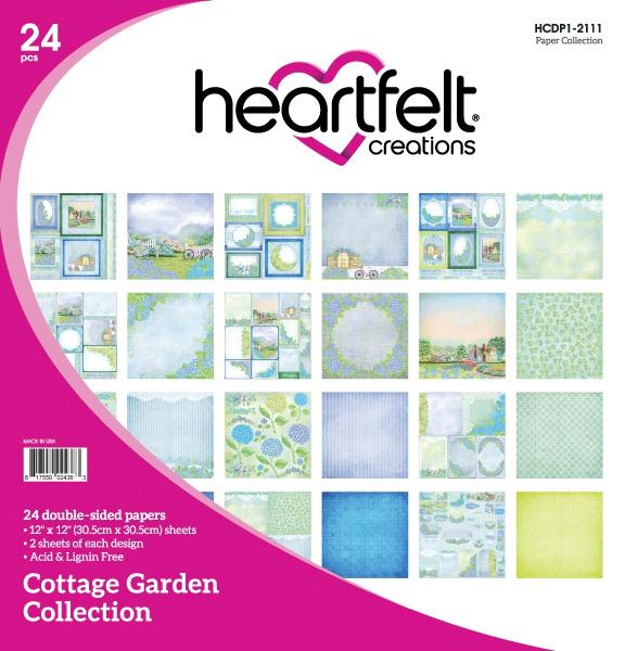 Cottage Garden Paper Pad 12X12