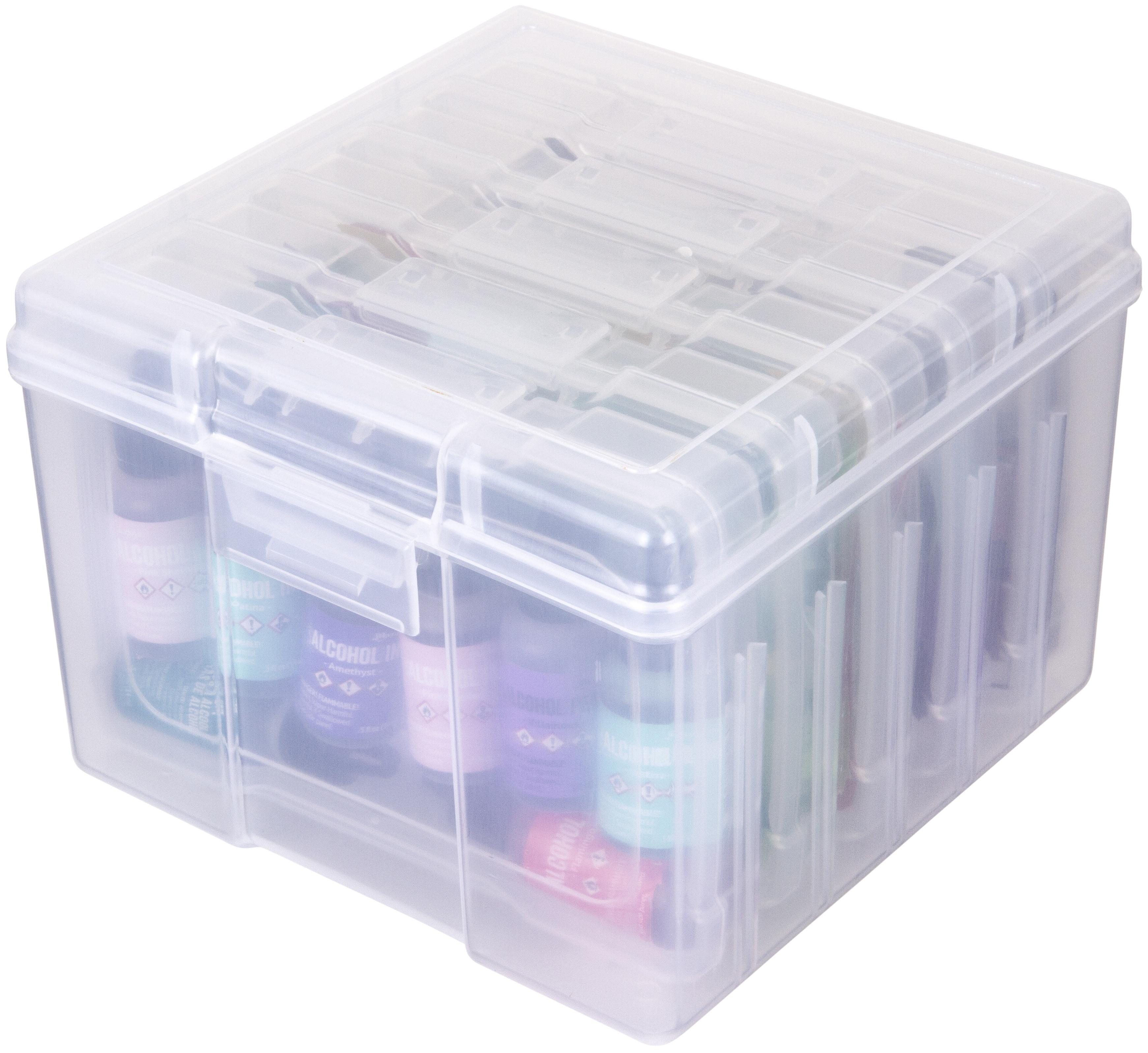 ArtBin Photo & Craft Supply Box-(1)large 7.5X7.2X5.2 (5) Small 4X6