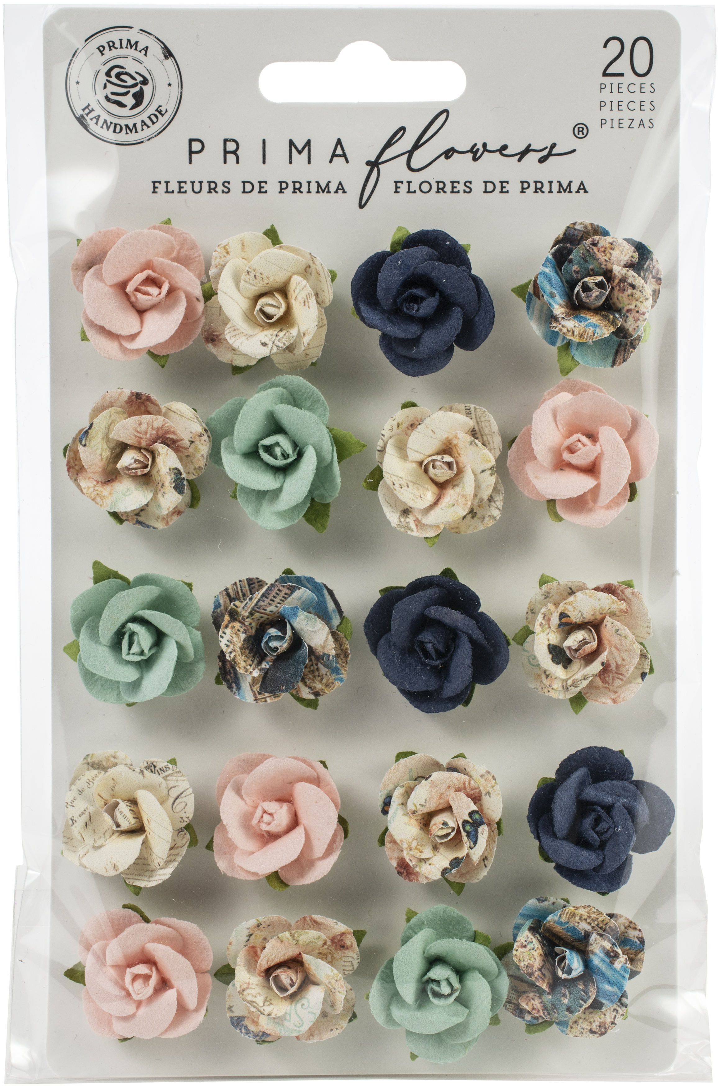 Prima Marketing Mulberry Paper Flowers-Isola Bella/Capri