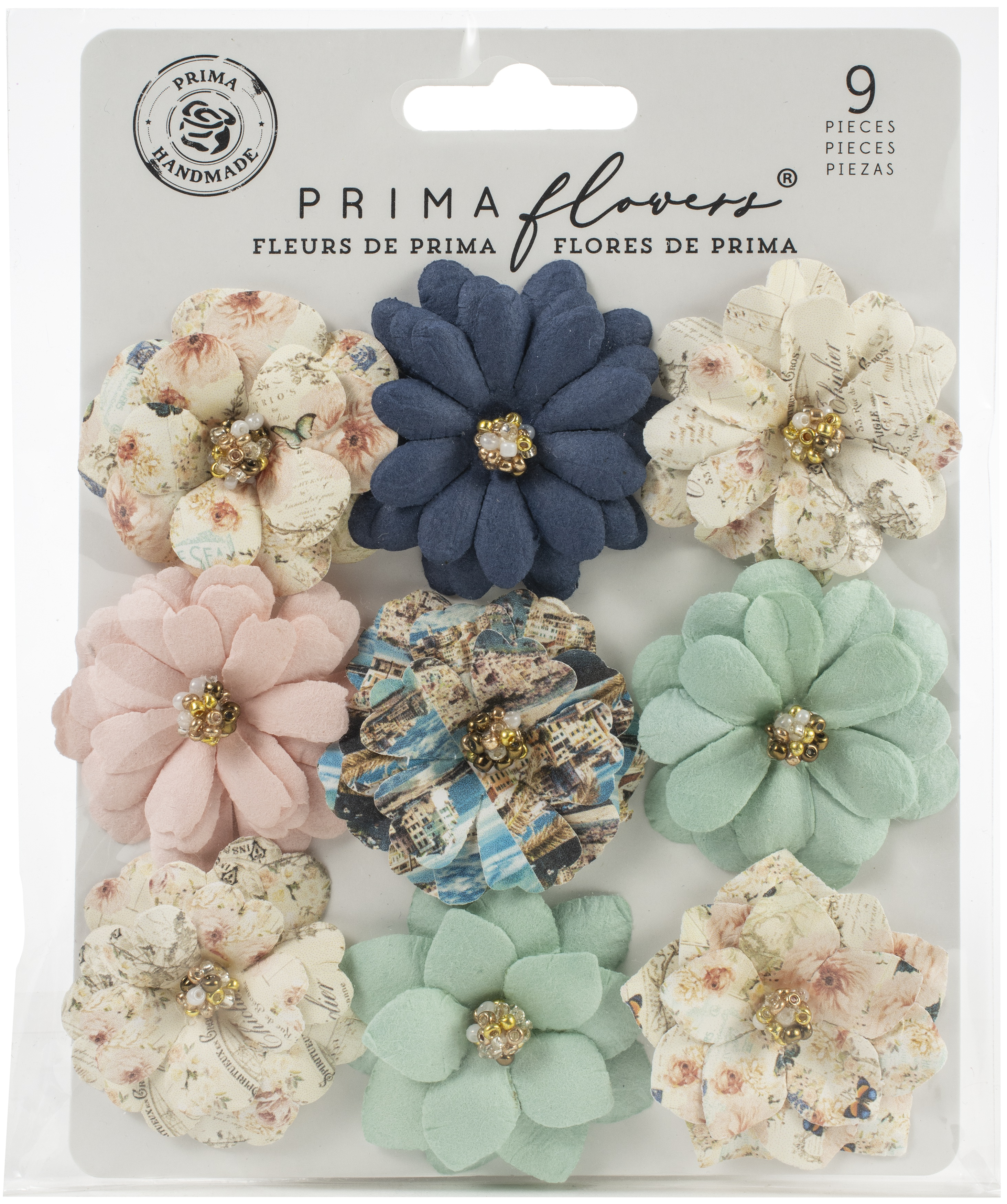 Prima Marketing Mulberry Paper Flowers-Amalfi/Capri