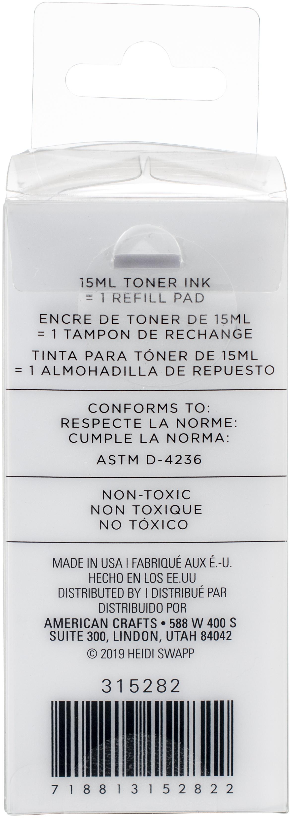 Heidi Swapp Minc Toner Stamping Stamp Ink 2oz-