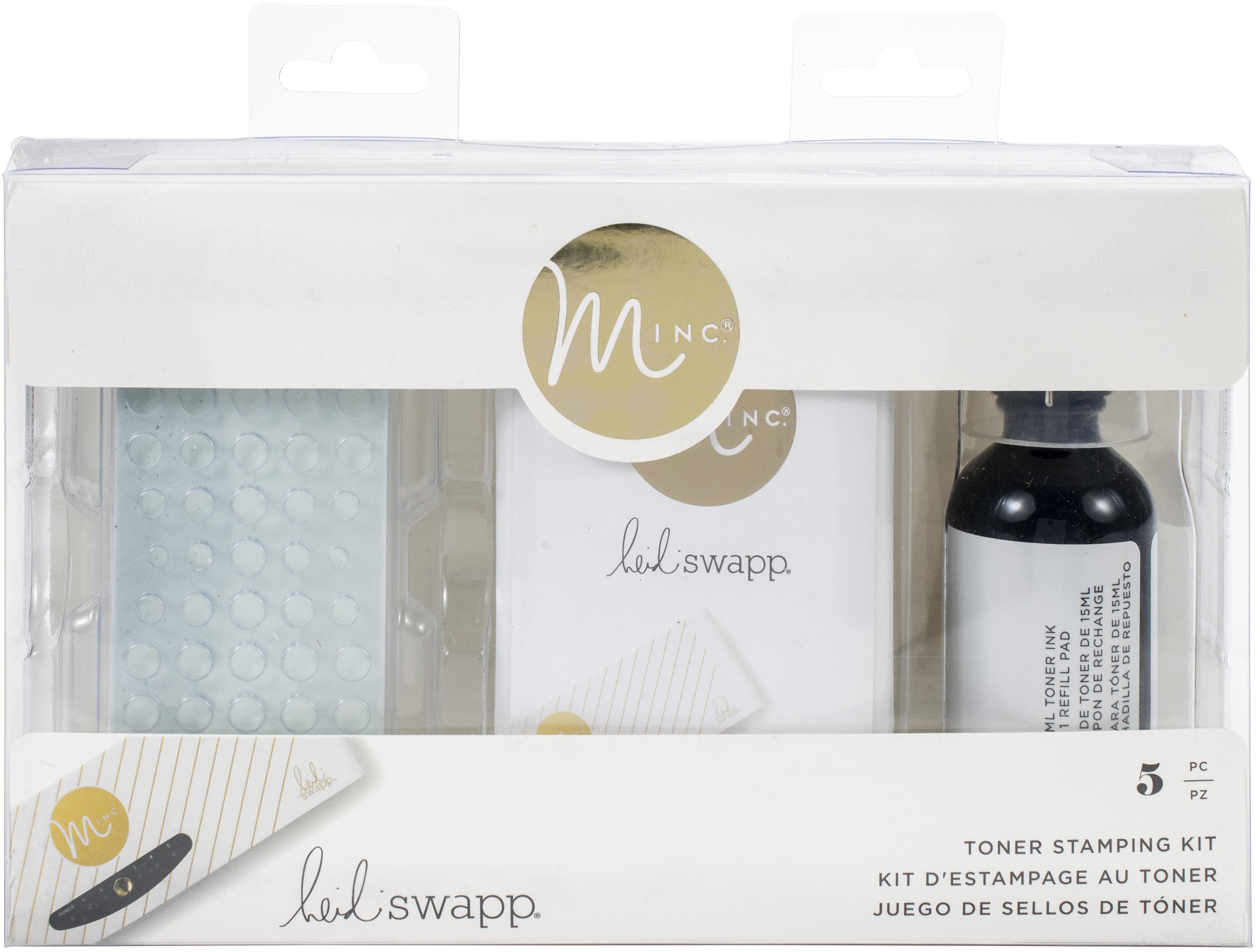 Heidi Swapp Minc Toner Stamping Kit 5/Pkg-