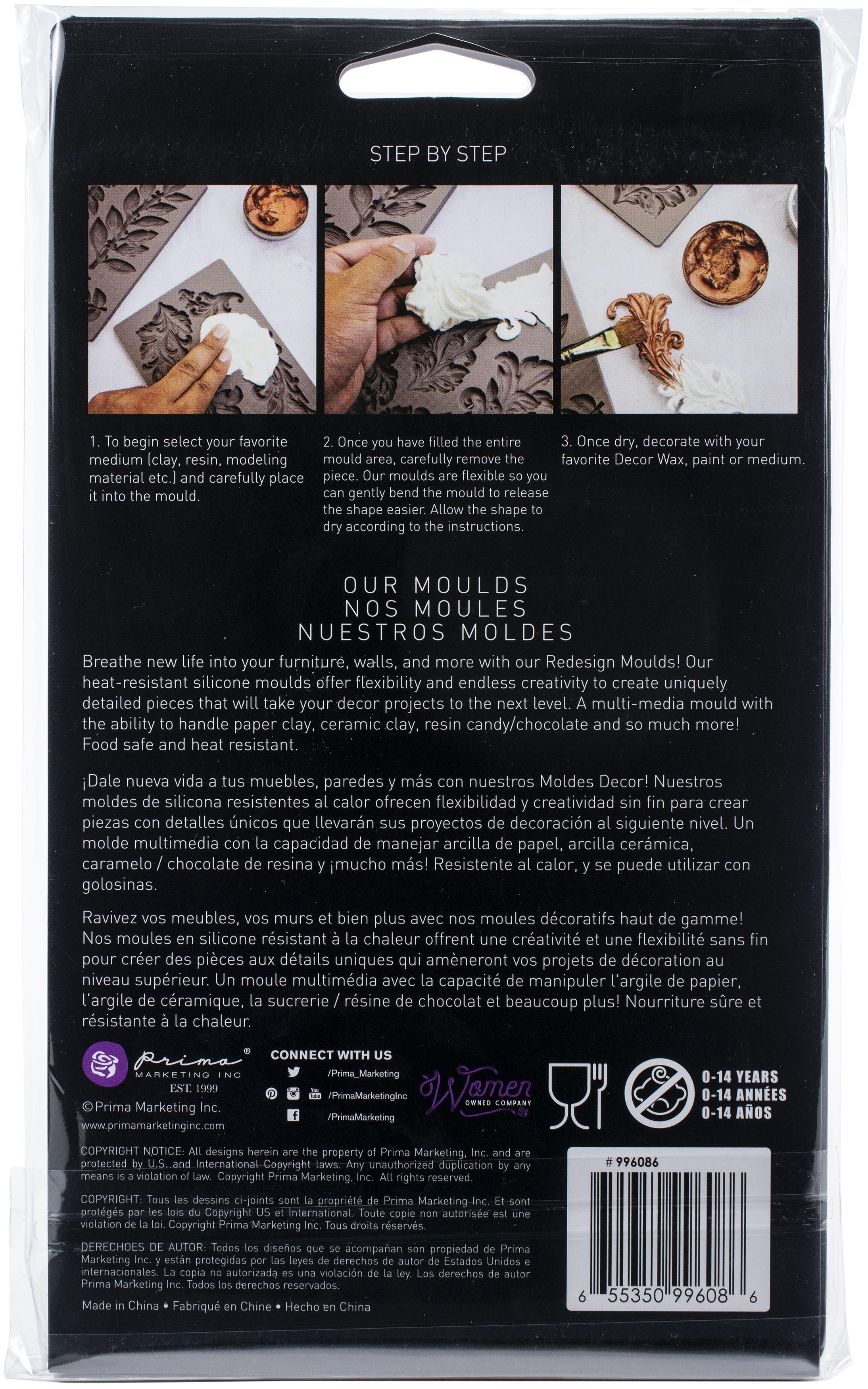 Prima Marketing Re-Design Mould 5X8X8mm-Montmartre Corners