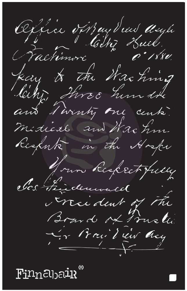 Read My Letter Stencil 6X9
