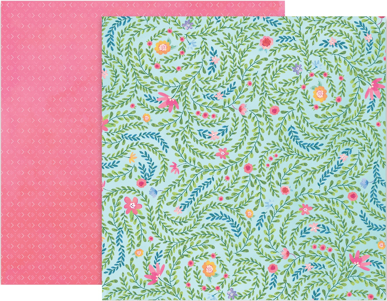 Paige Evans Bloom Street Double-Sided Cardstock 12X12-#5