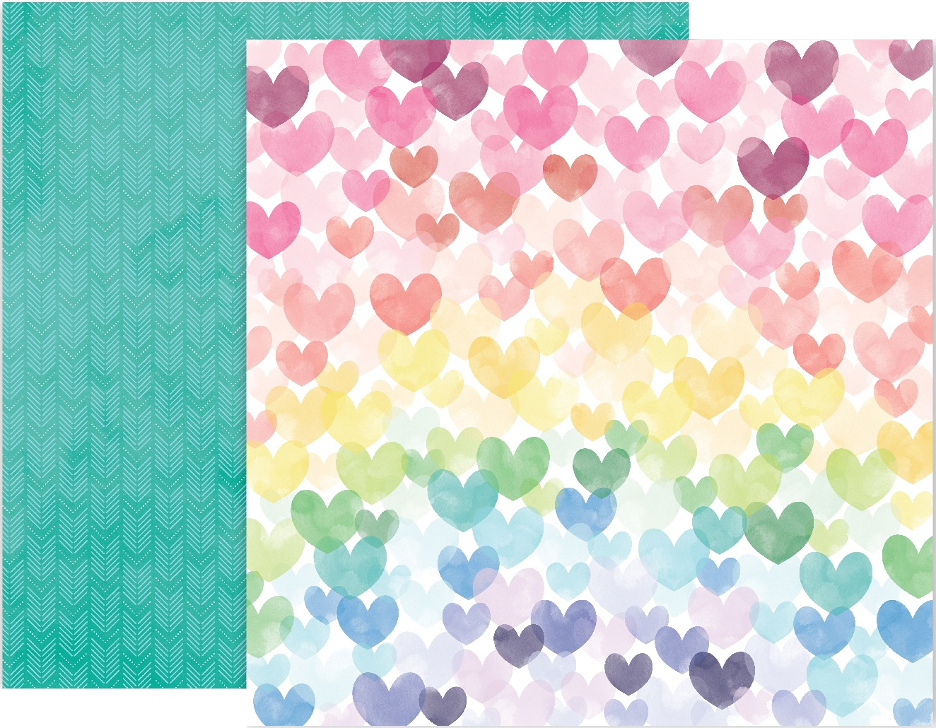 Paige Evans Bloom Street Double-Sided Cardstock 12X12-#6