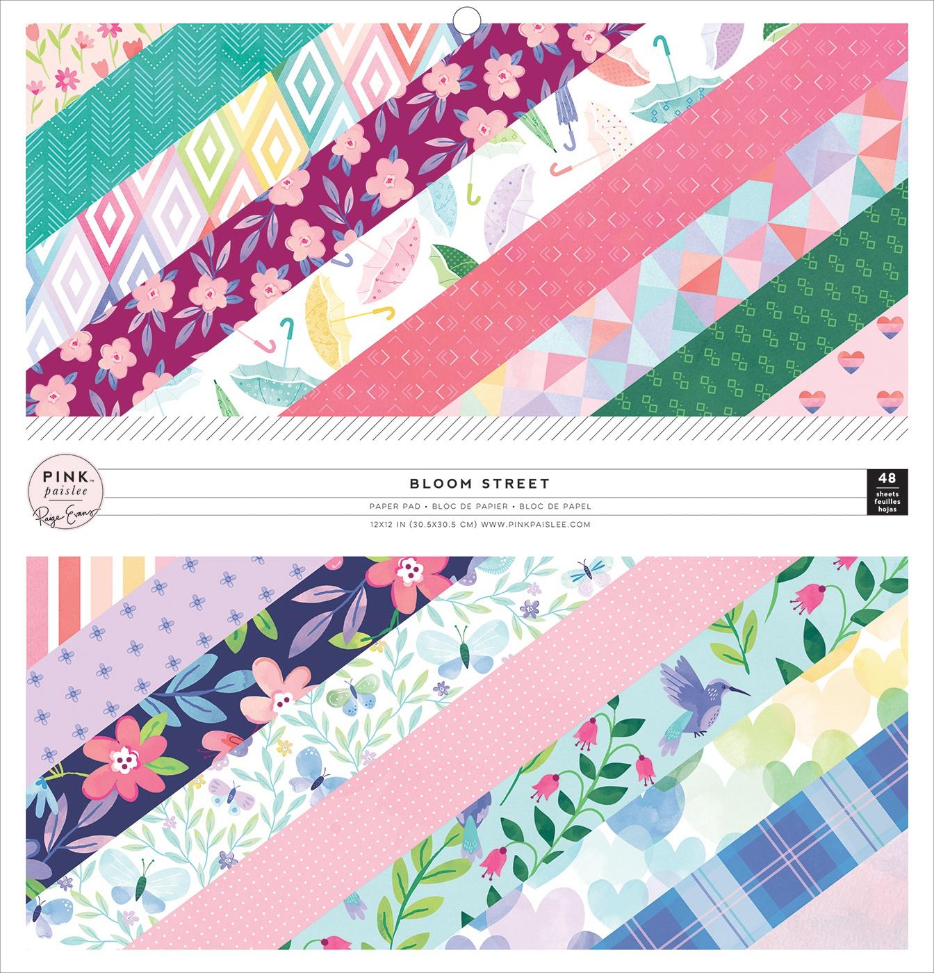 Bloom Street Paper Pad 12X12