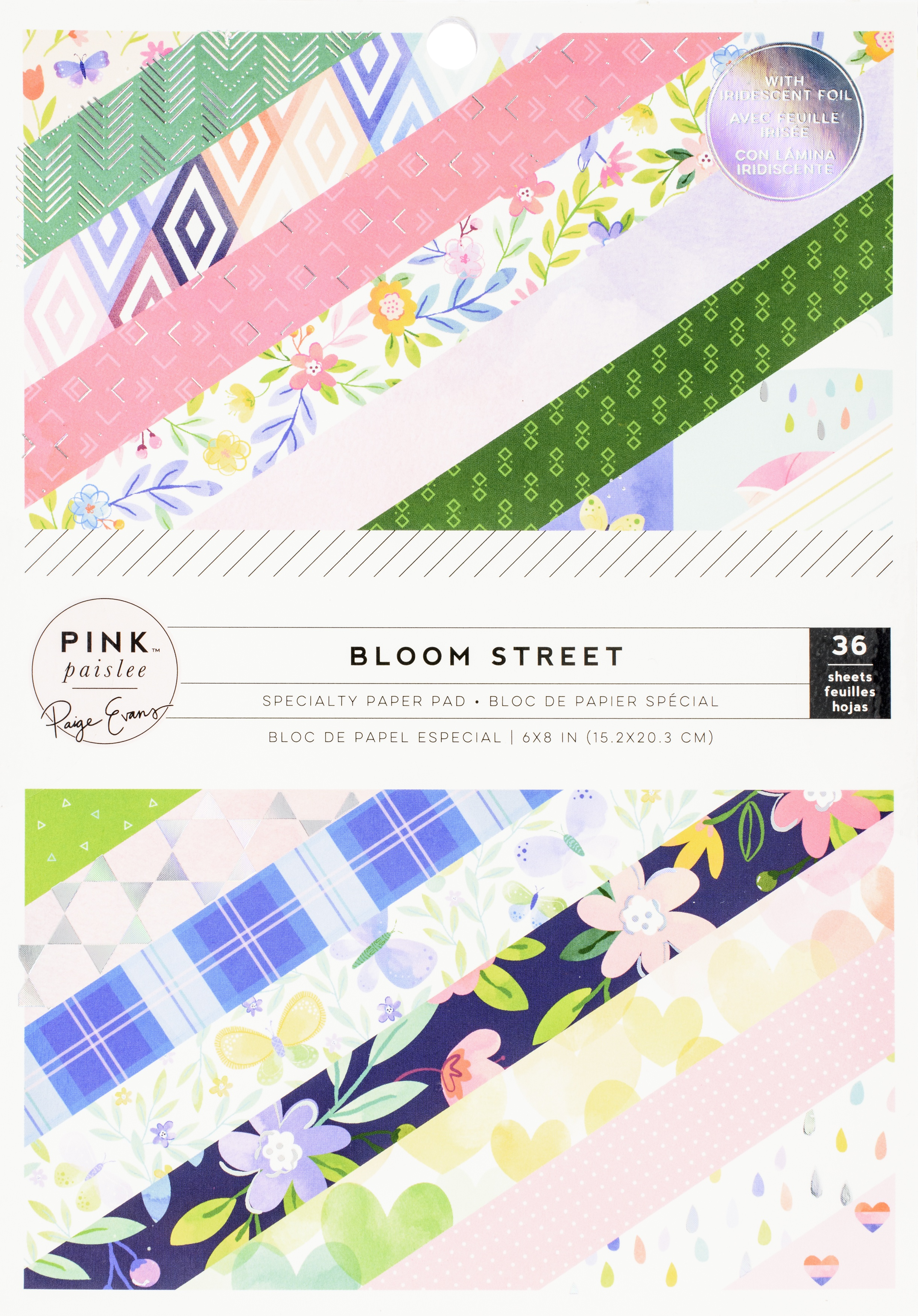 Paige Evans Bloom Street - 6x8 Single-Sided Paper Pad