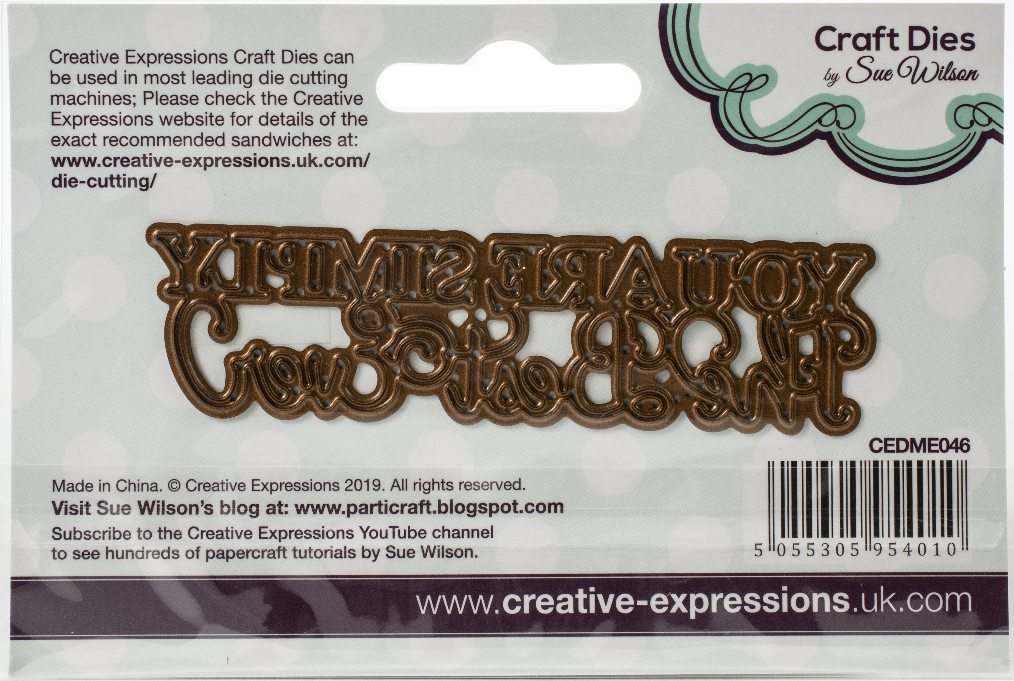 Creative Expressions Craft Dies By Sue Wilson-Mini Expressions- Simply The Best