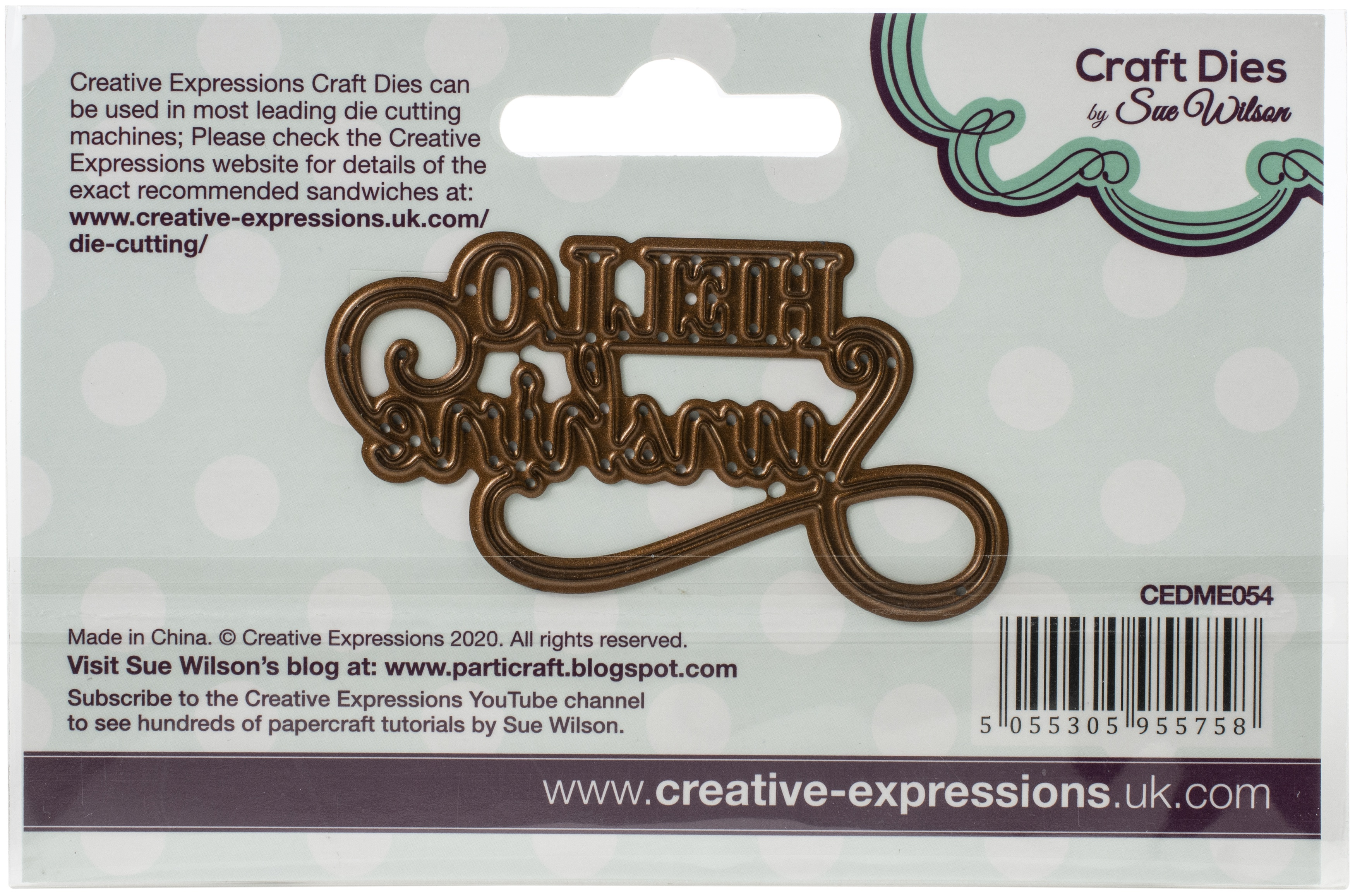 Creative Expressions Craft Dies By Sue Wilson-Mini Expressions- Hello Sunshine