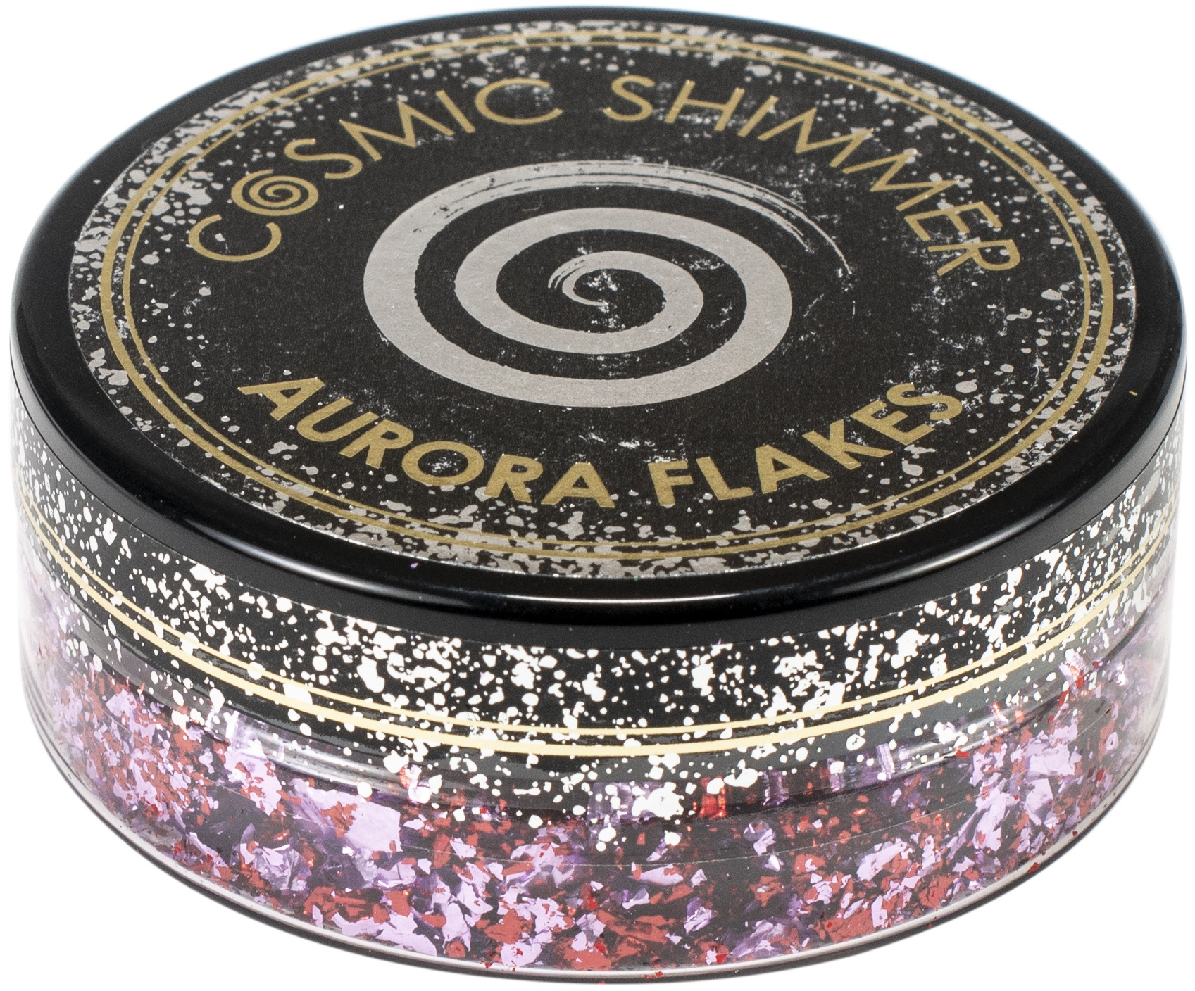 Cosmic Shimmer Aurora Flakes - Blissful Berry, 50ml