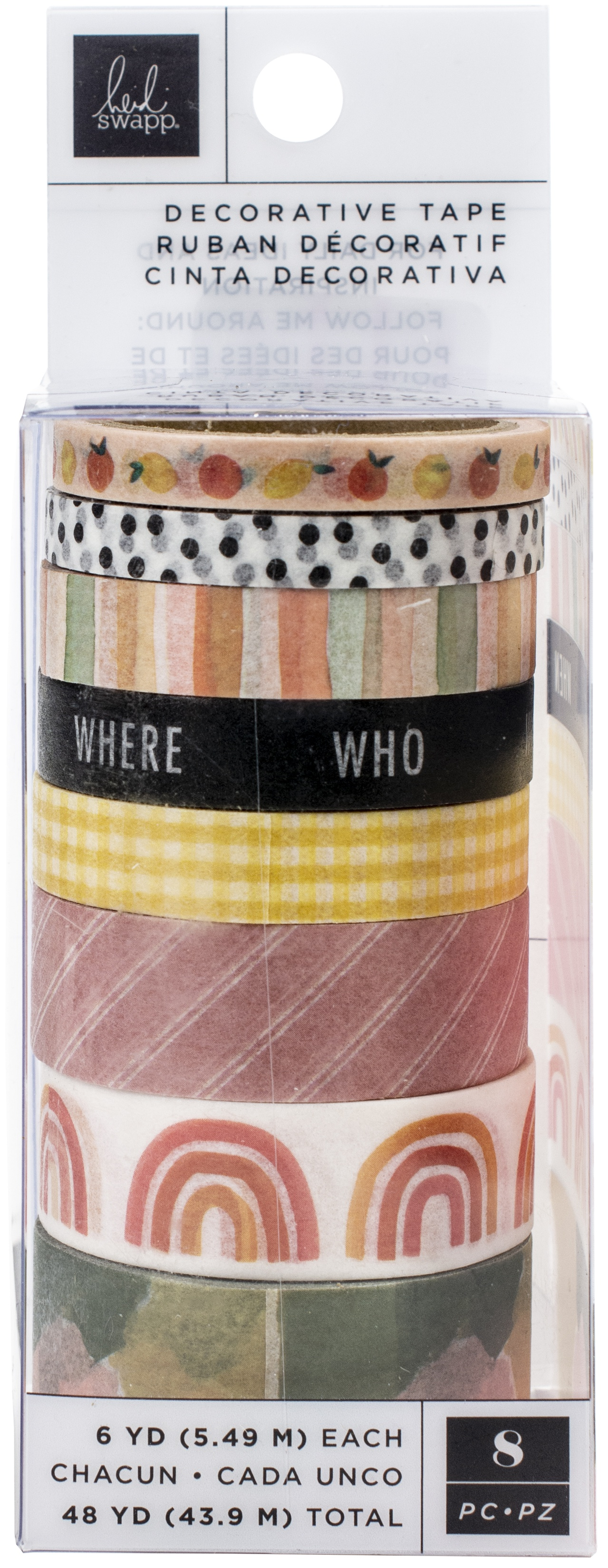 Storyline Chapters Washi Tape Rolls