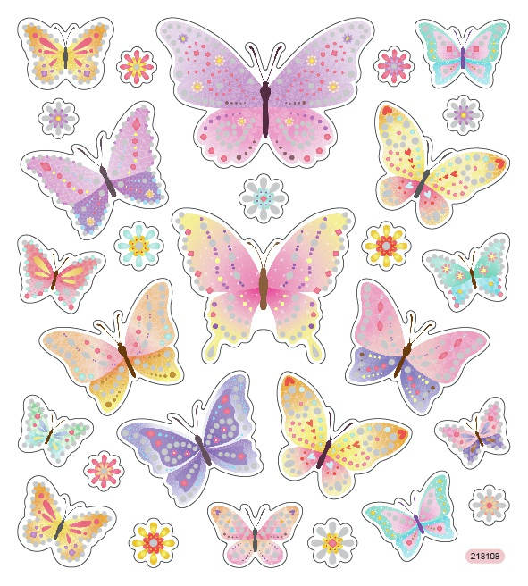 Sticker King Stickers-Diamond Wings