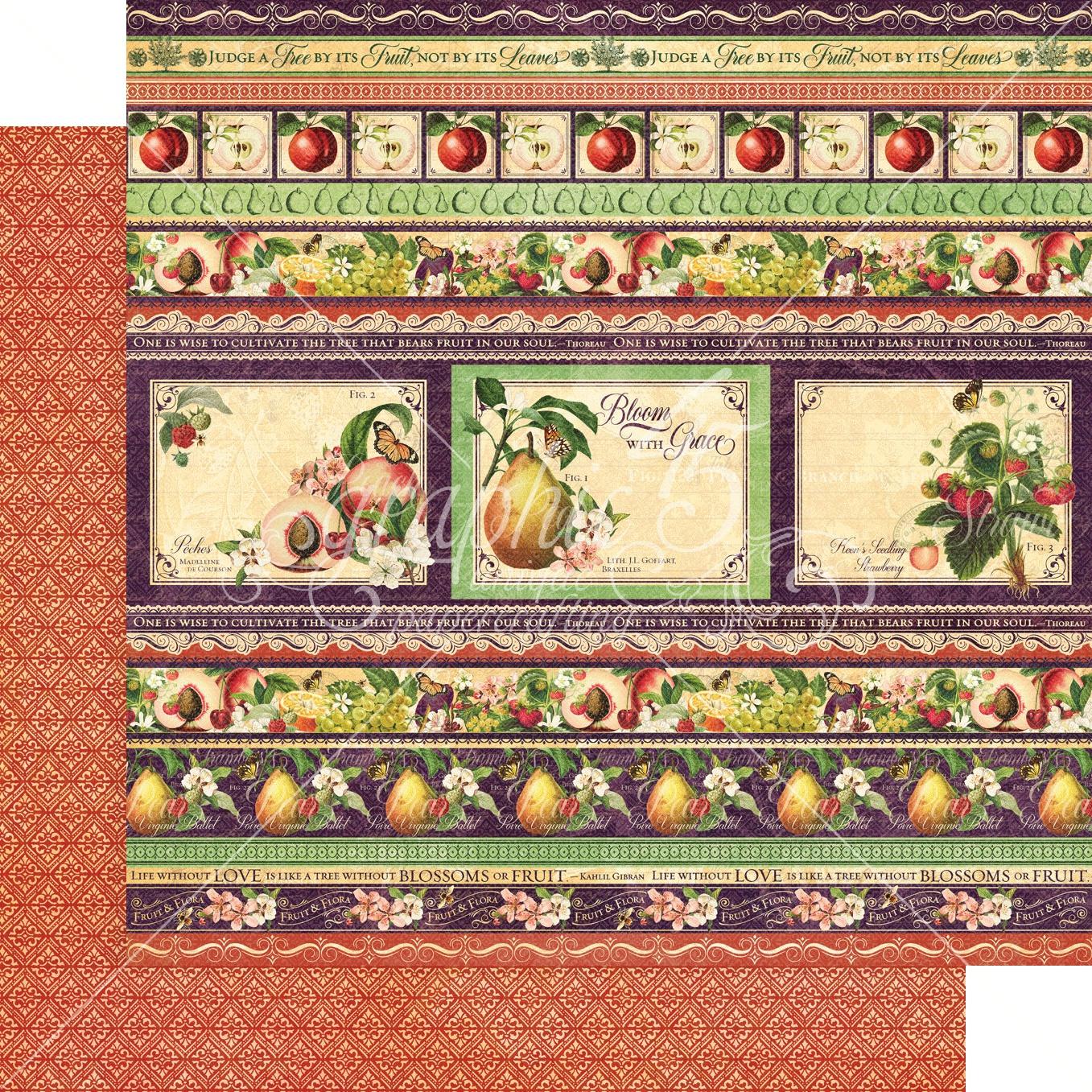 Fruit & Flora Fabulous Fruit Paper