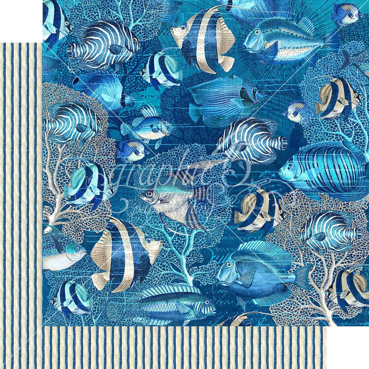 Graphic 45 - Ocean Blue Capri 12x12