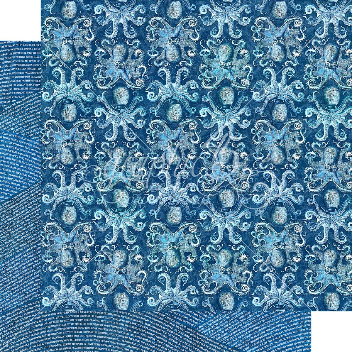 Ocean Blue Double-Sided Cardstock 12X12-Kauai