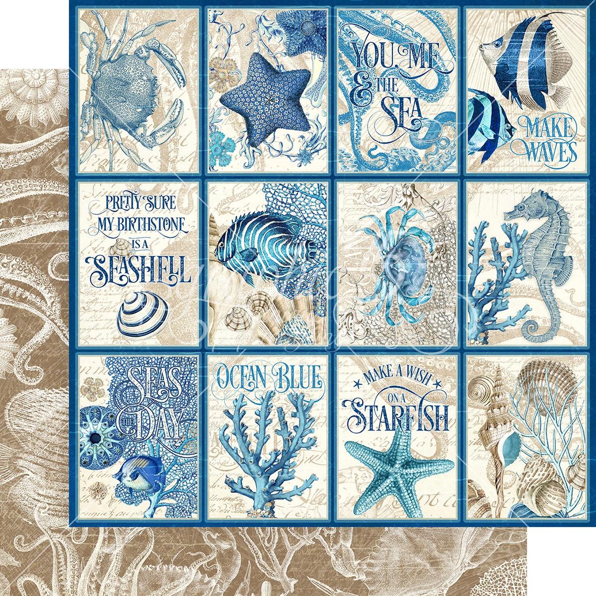 Graphic 45 - Ocean Blue Cozumel 12x12
