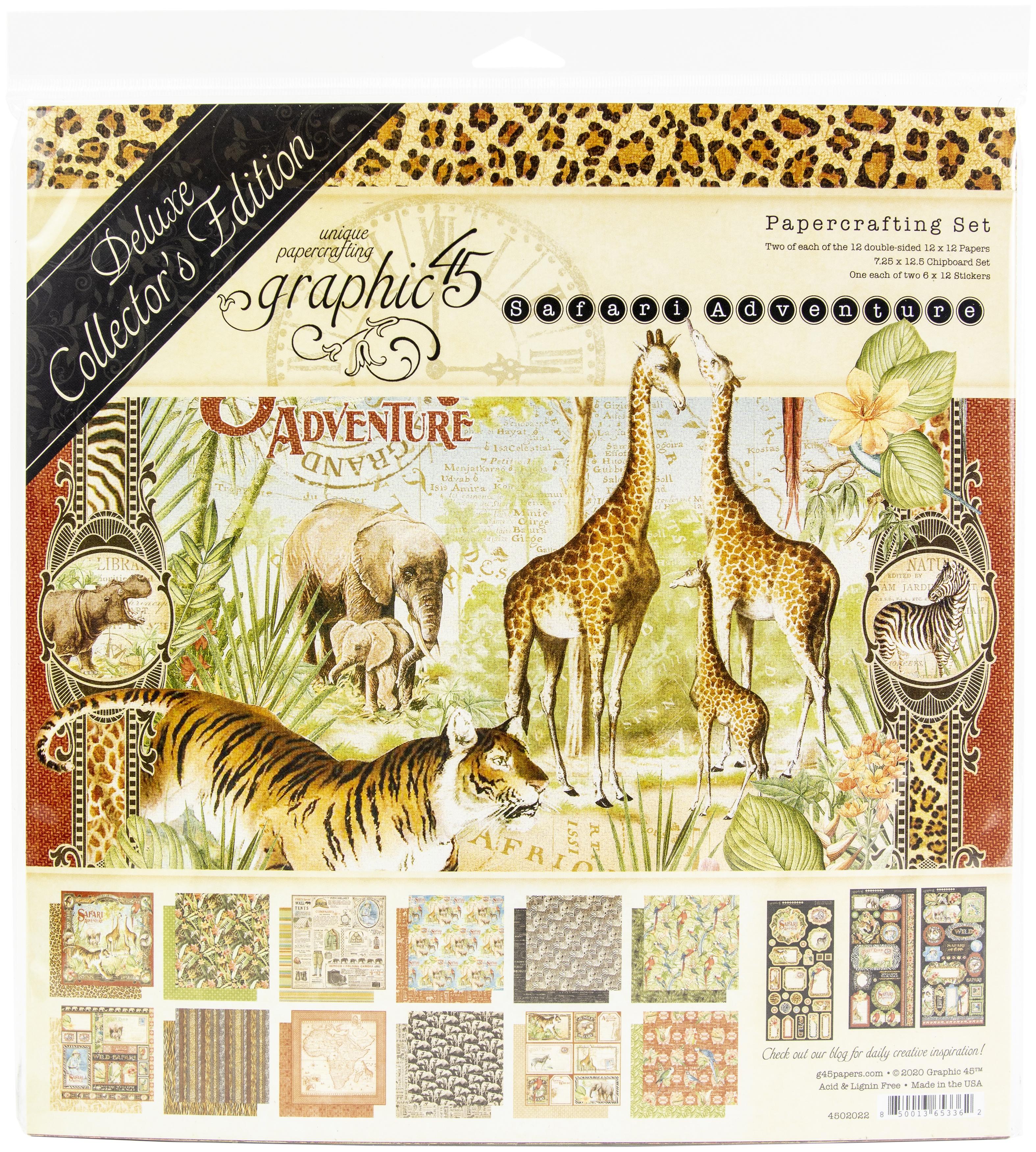 Safari Adventure Deluxe Collection