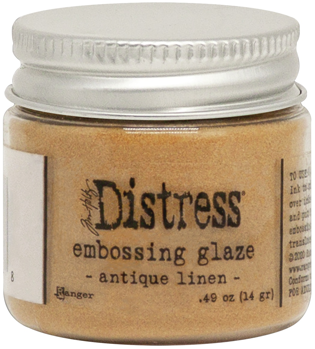 Tim Holtz Distress Embossing Glaze-Antique Linen