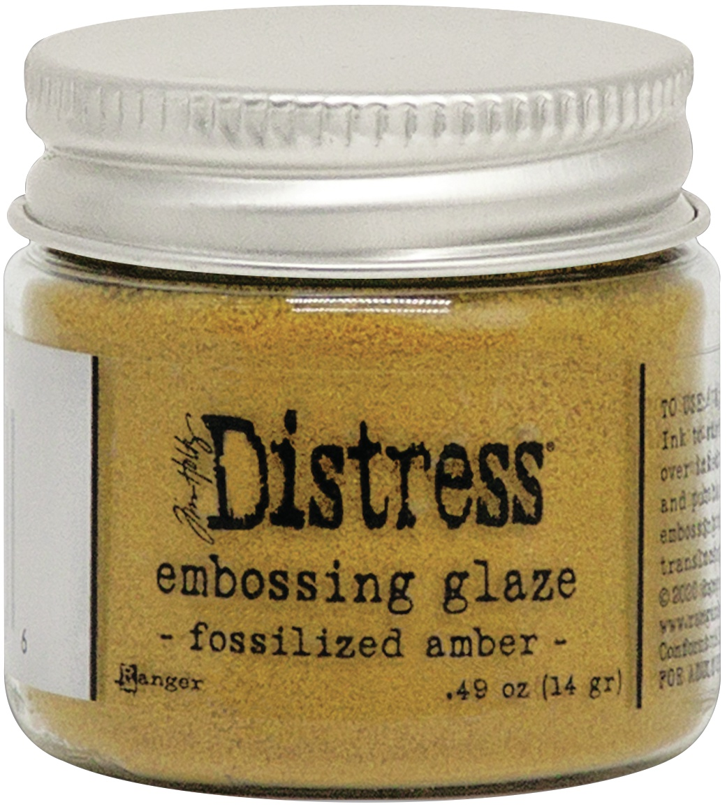 Tim Holtz Distress Embossing Glaze -Fossilized Amber