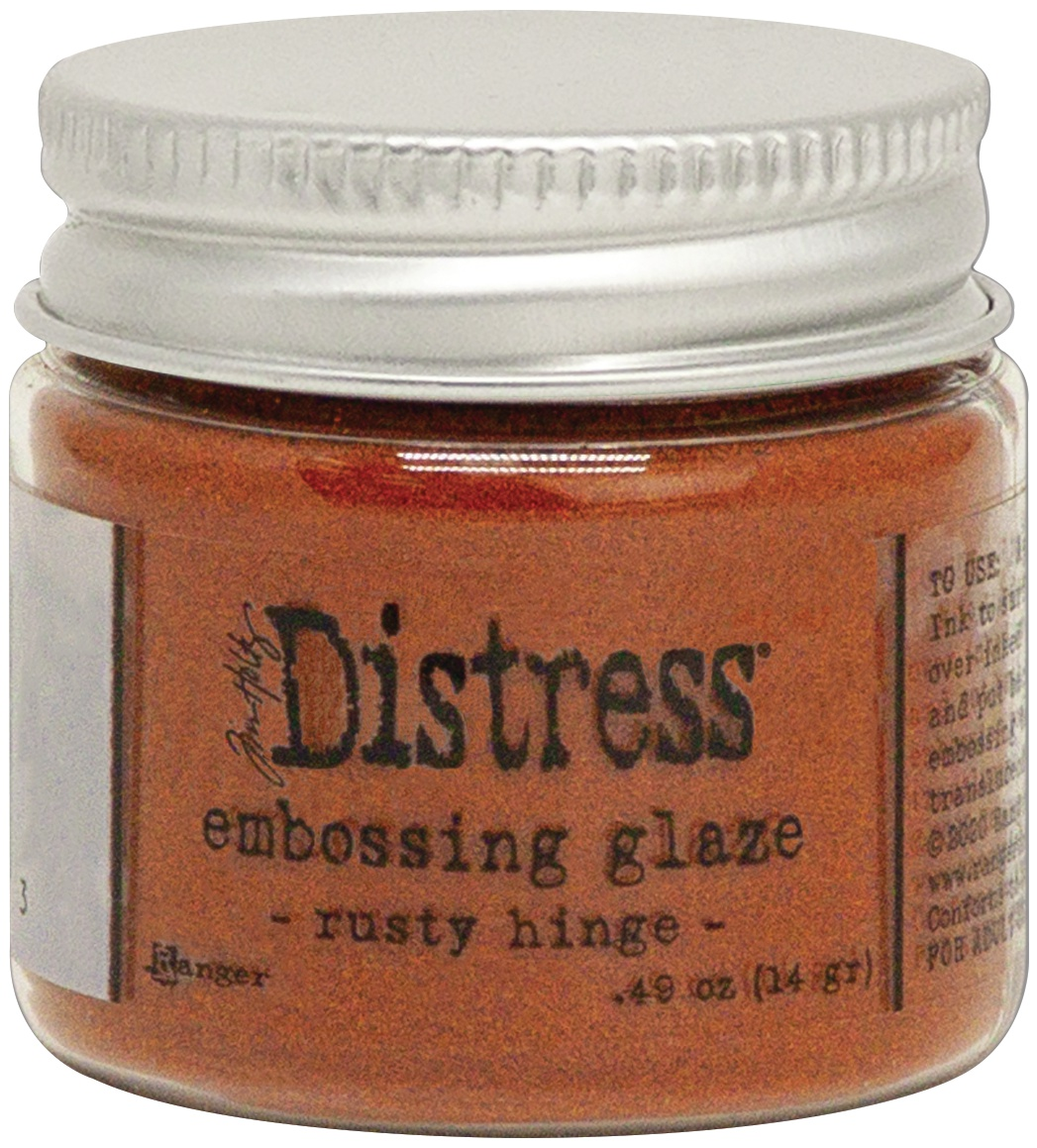 Tim Holtz Distress Embossing Glaze -Rusty Hinge