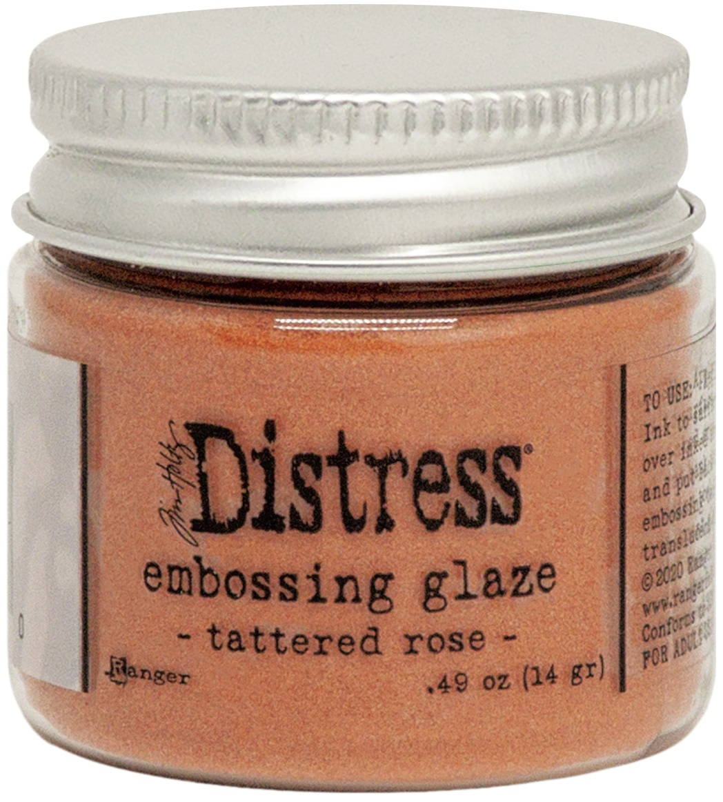 Tim Holtz Distress Embossing Glaze -Tattered Rose
