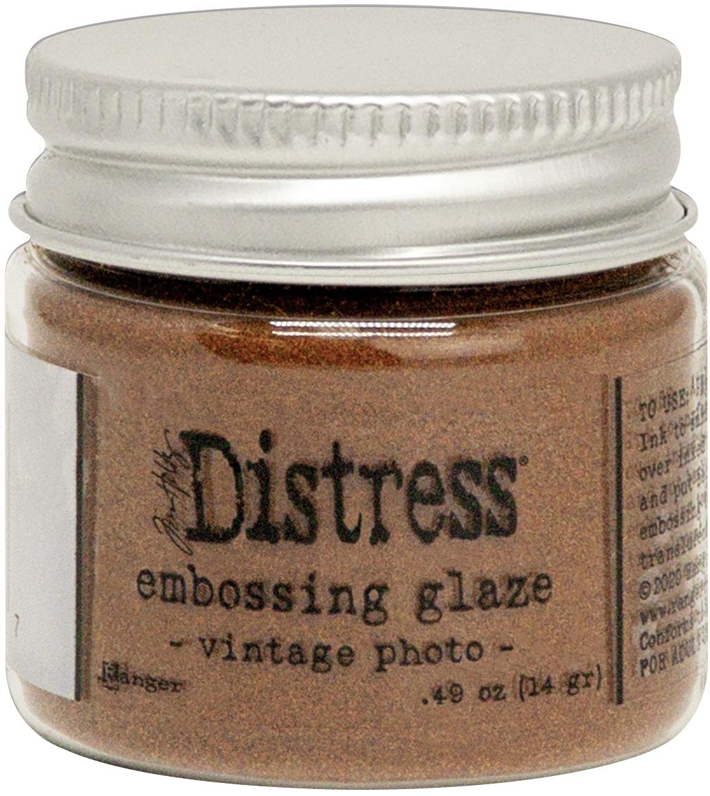 Distress Embossing Glaze - Vintage Photo