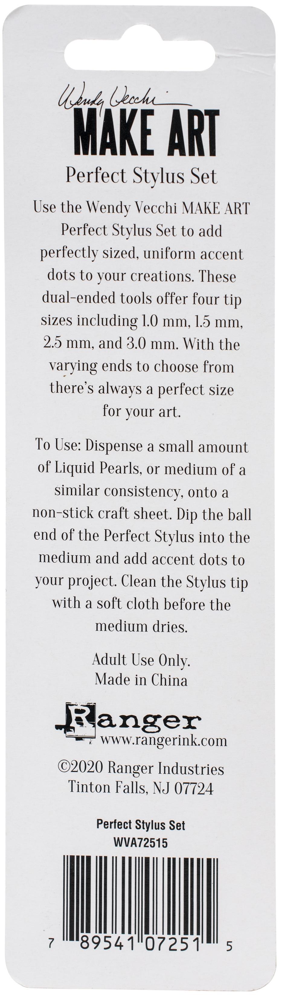 Wendy Vecchi Make Art Perfect Stylus Set-