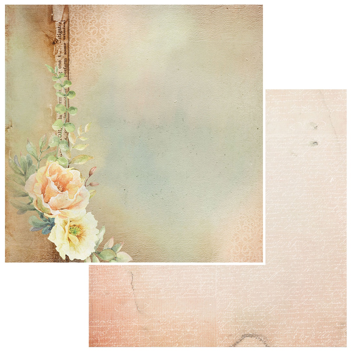 Irrevocable Beauty Double-Sided Cardstock 12X12-Petrarch