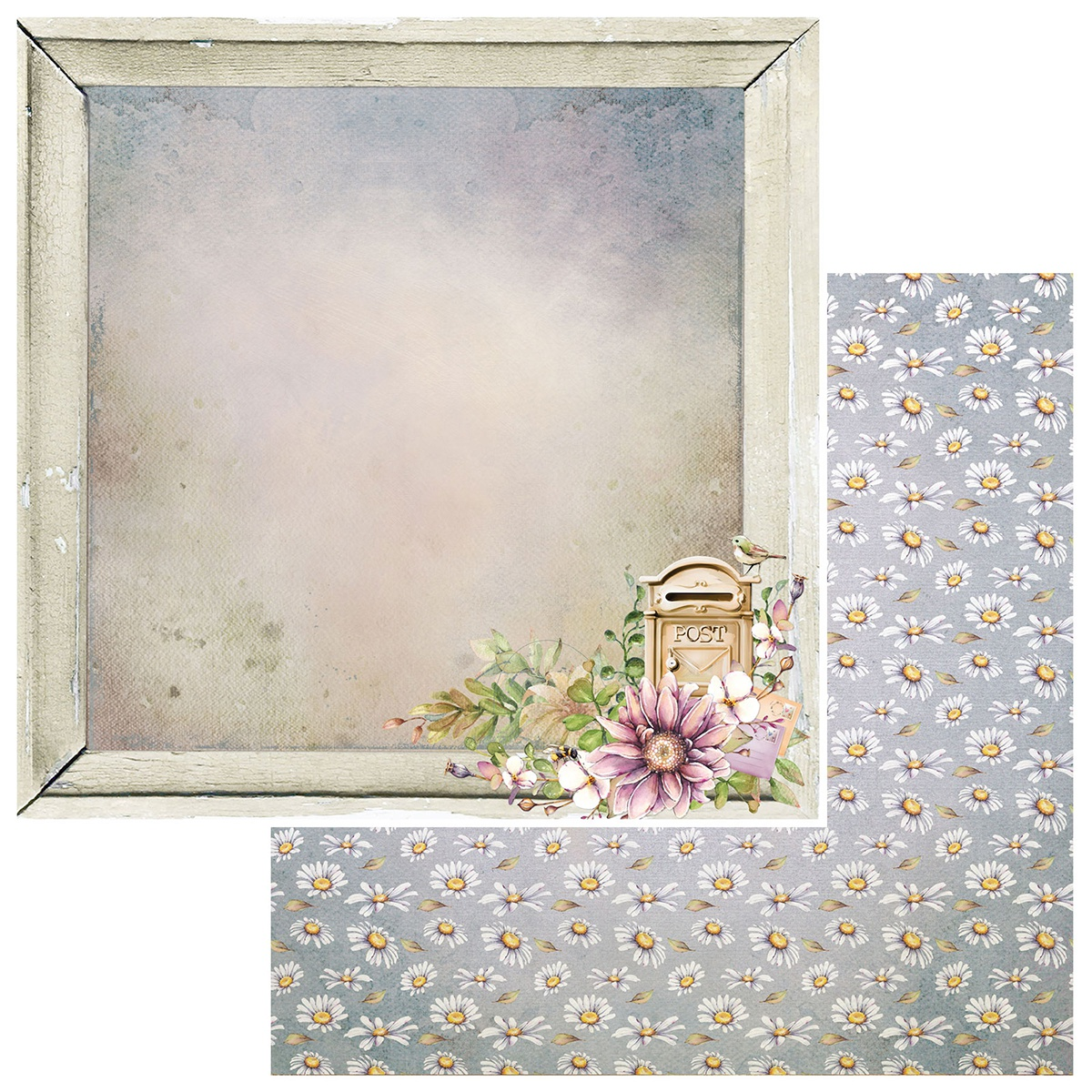 Irrevocable Beauty Double-Sided Cardstock 12X12-Courier