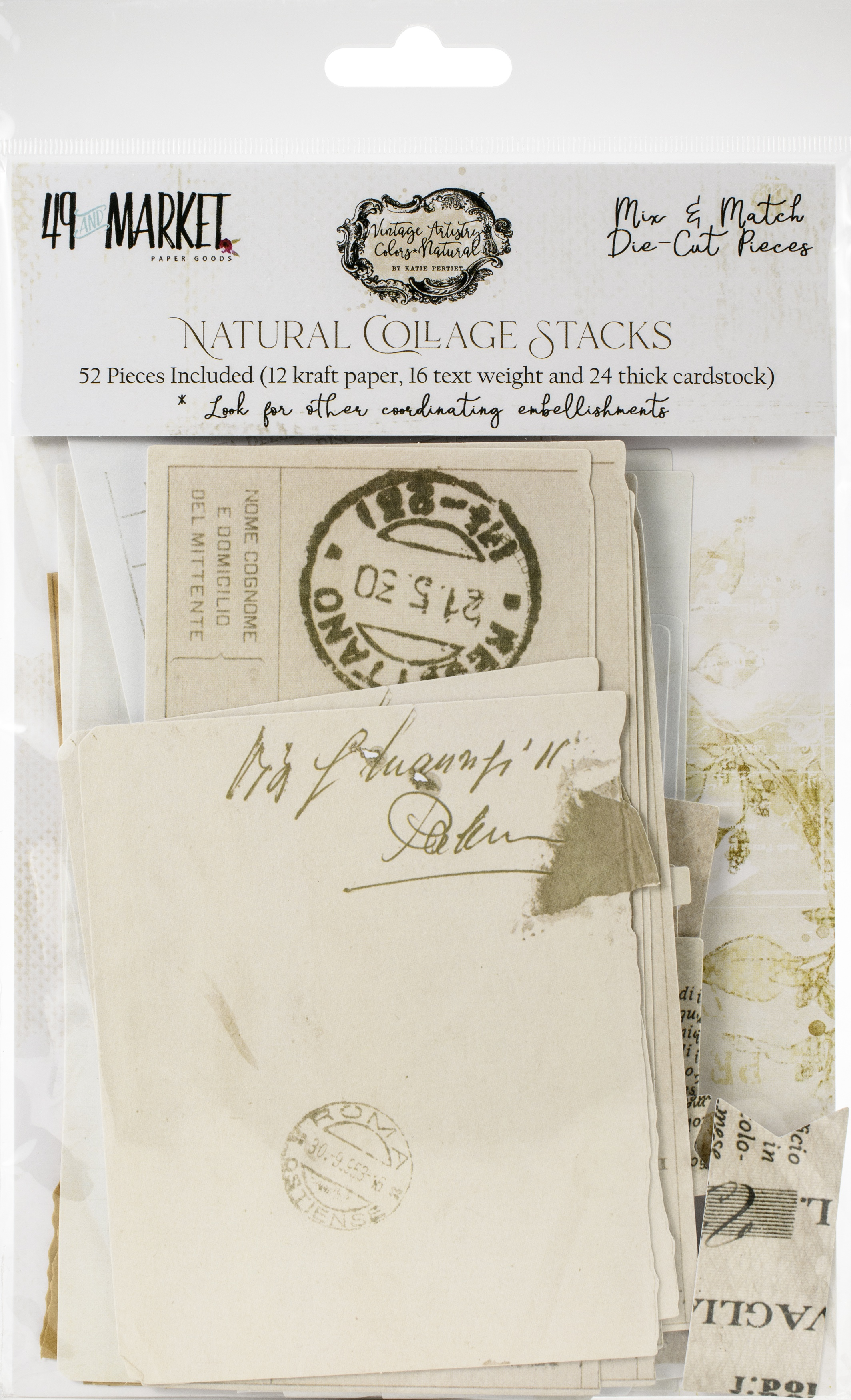 49 And Market - Natural Collage Stacks