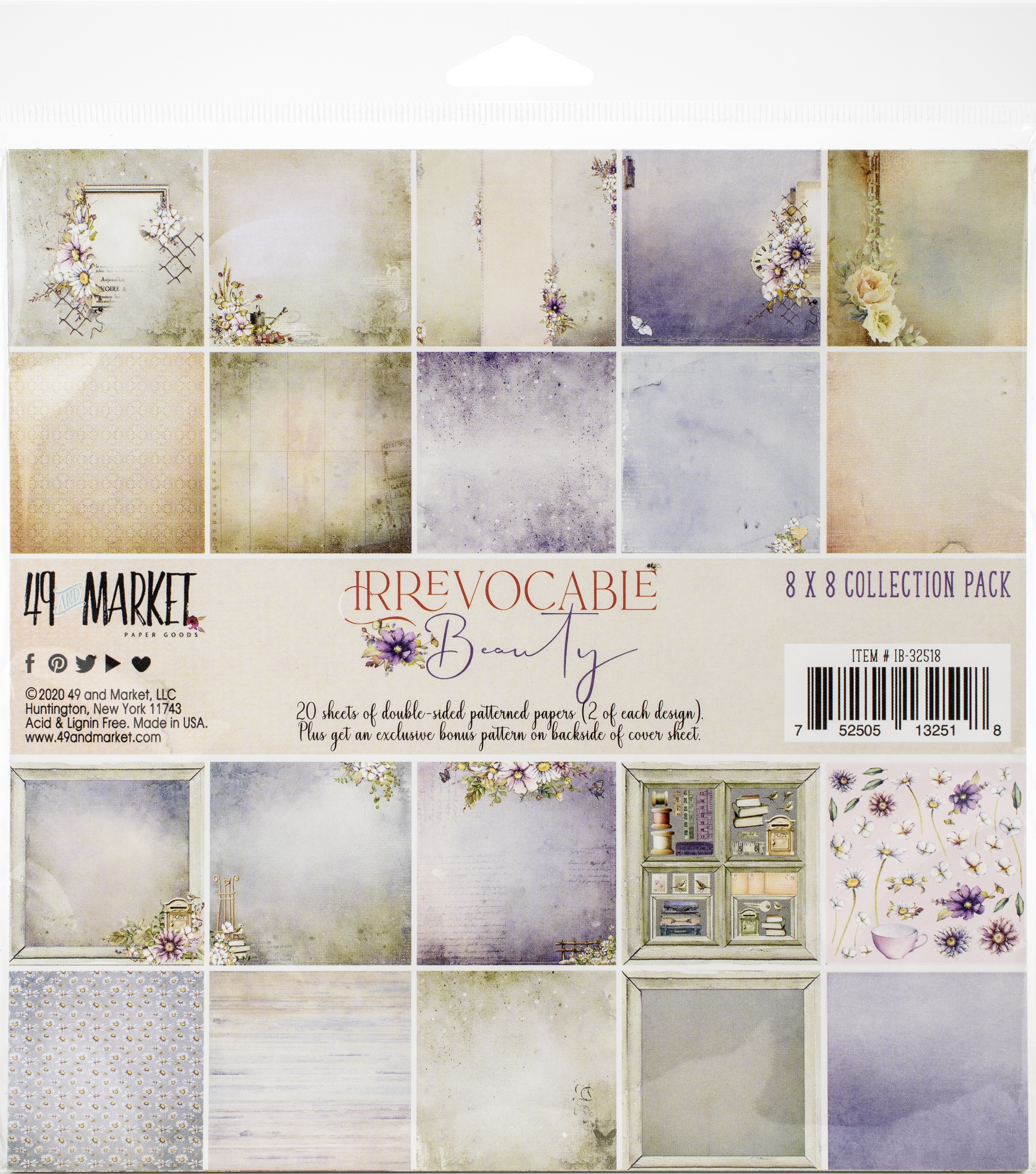 49 And Market Collection Pack 8X8-Irrevocable Beauty