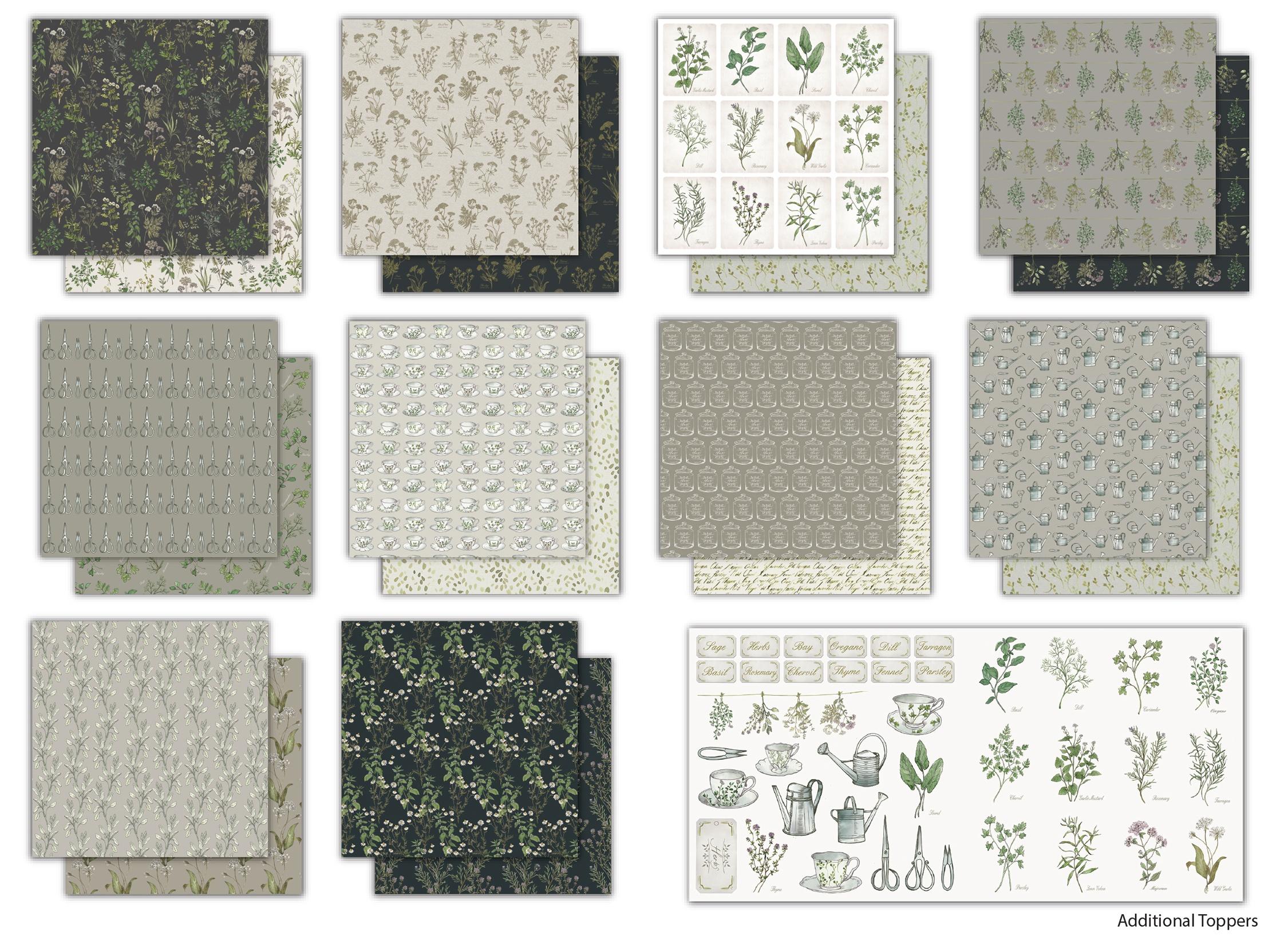 The Herbarium Paper Pad 6X6