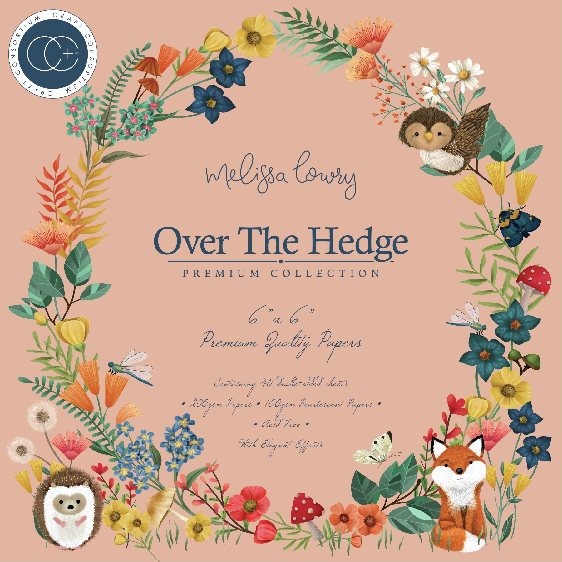 Over The Hedge Paper Pad 6X6