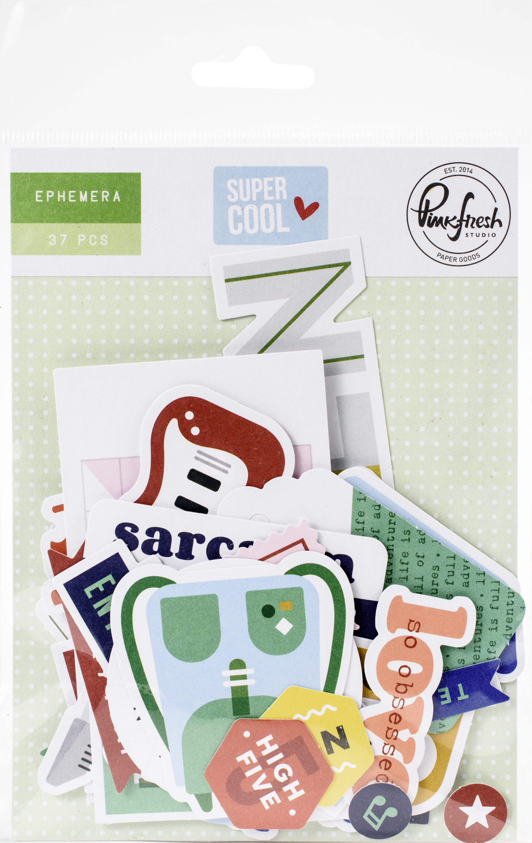 Pinkfresh Cardstock Die-Cuts-Super Cool