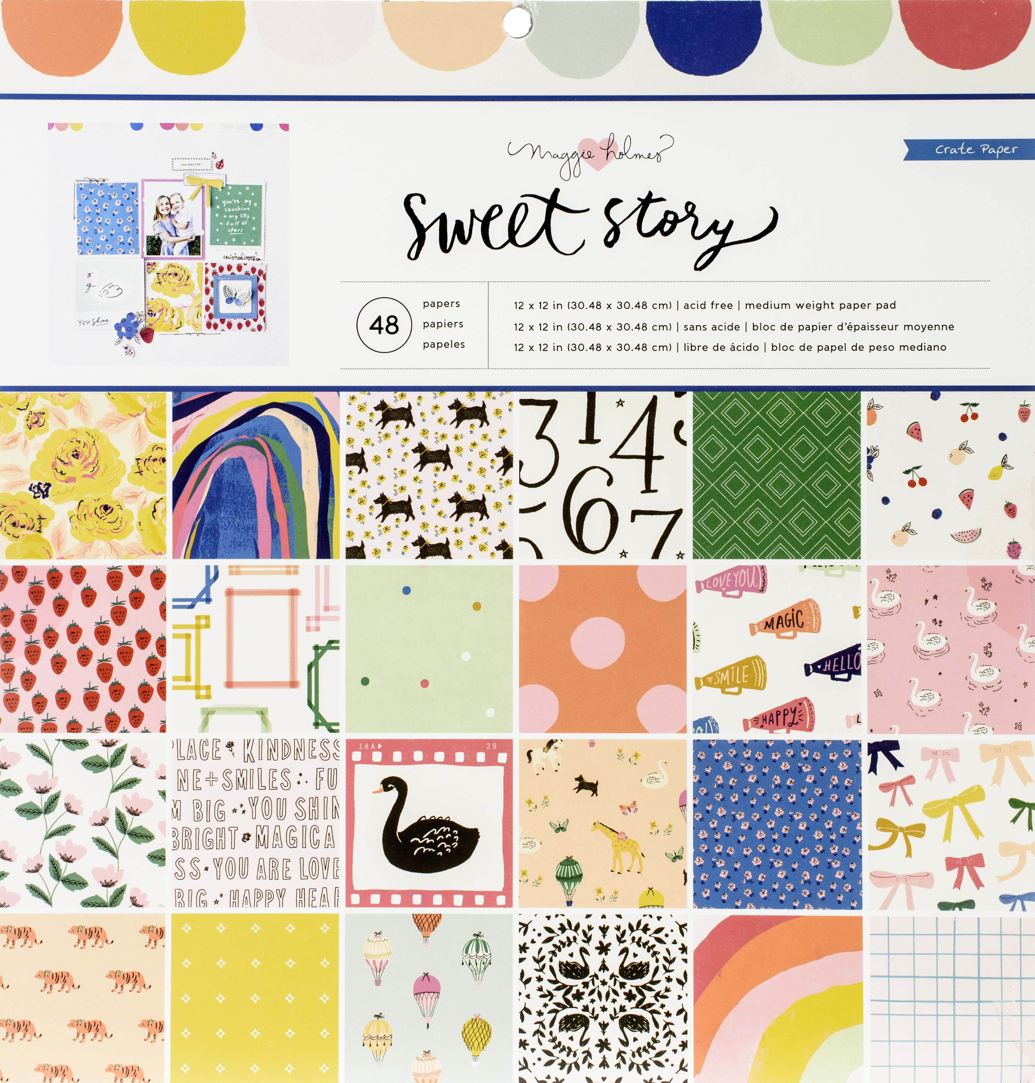 Sweet Story - Paper Pad