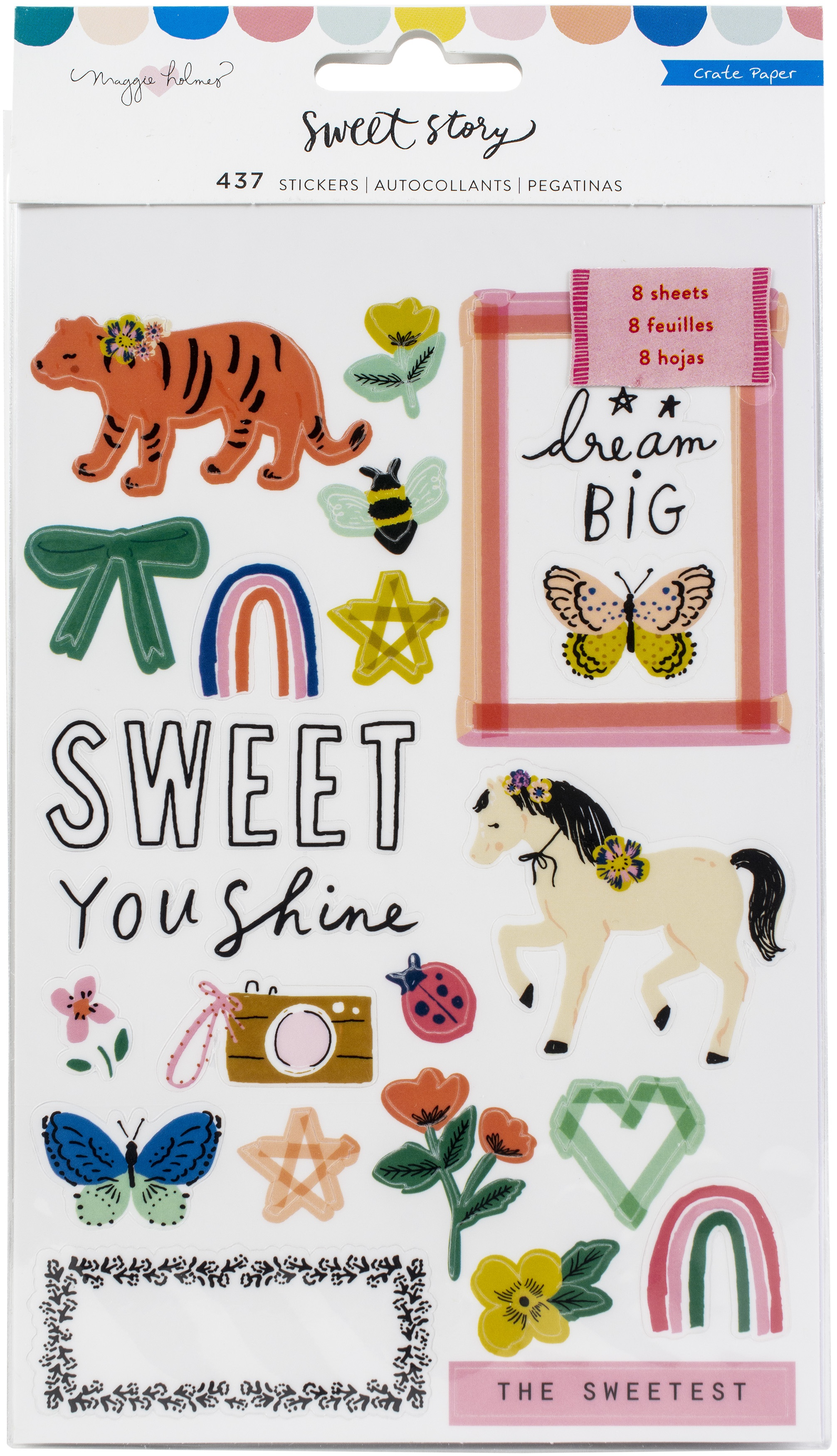 Sweet Story Stickers Book