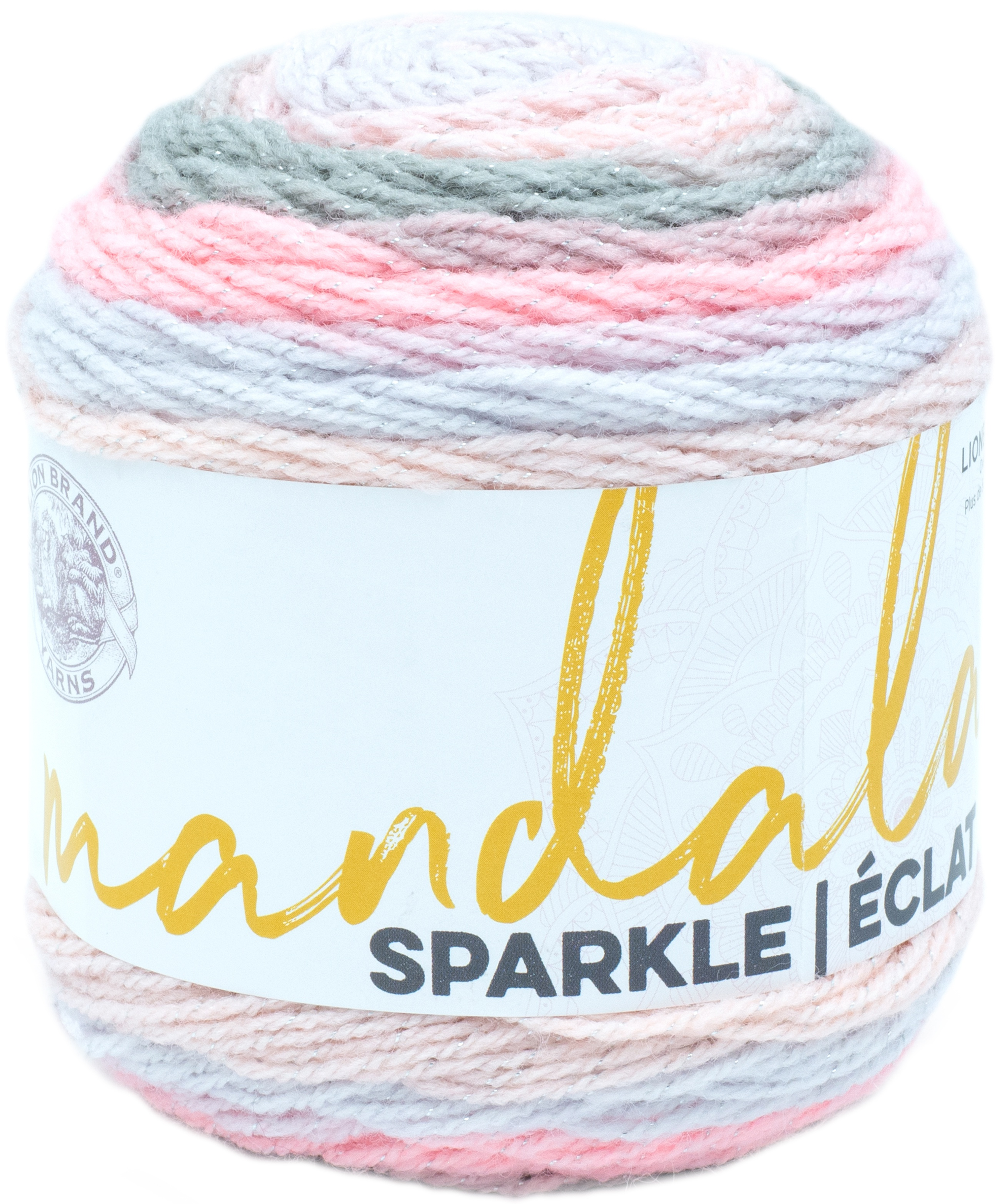 Lion Brand Mandala Sparkle Yarn-Nova
