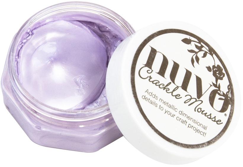 Nuvo Crackle Mousse-Misty Mauve