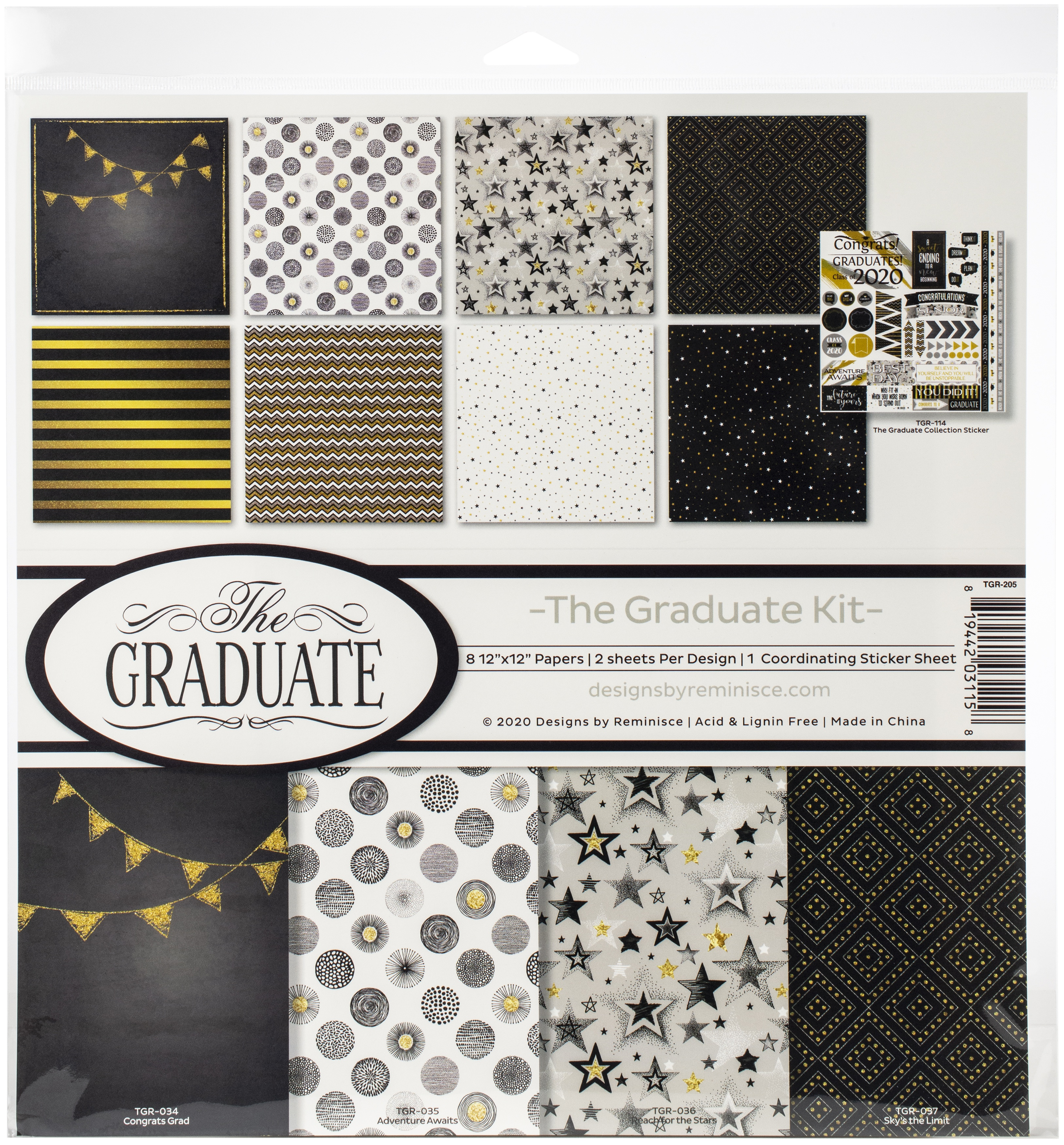 The Graduate Collection Kit 12X12 - Reminisce