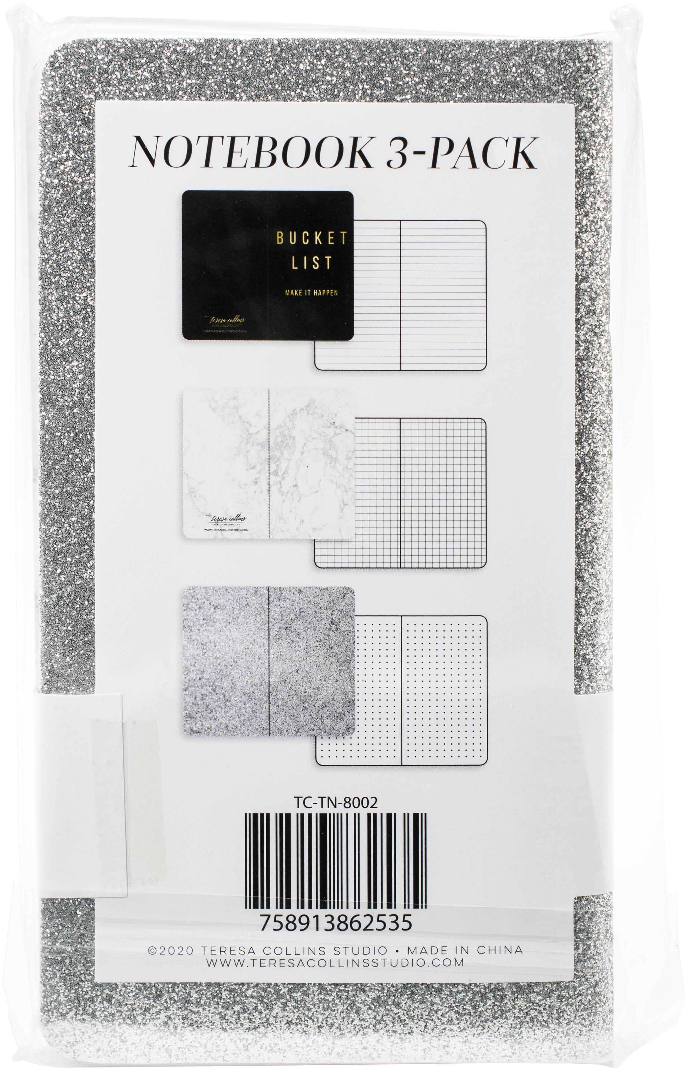 Teresa Collins Travelers Notebooks Set 4X7 3/Pkg-Bucket List
