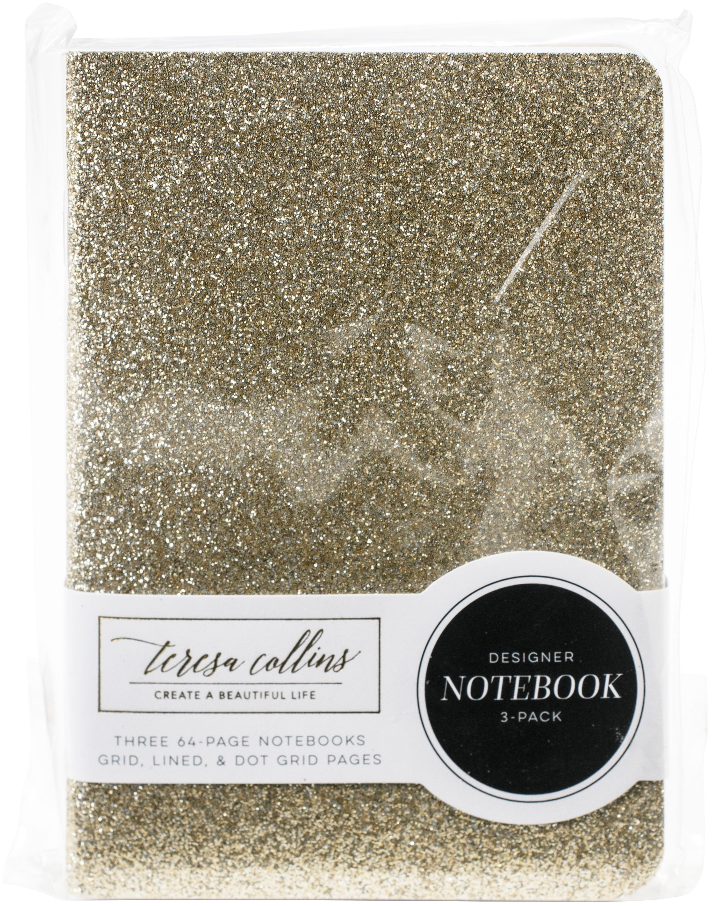 Teresa Collins Passport Notebooks Set 3.5X5 3/Pkg-Jetsetter