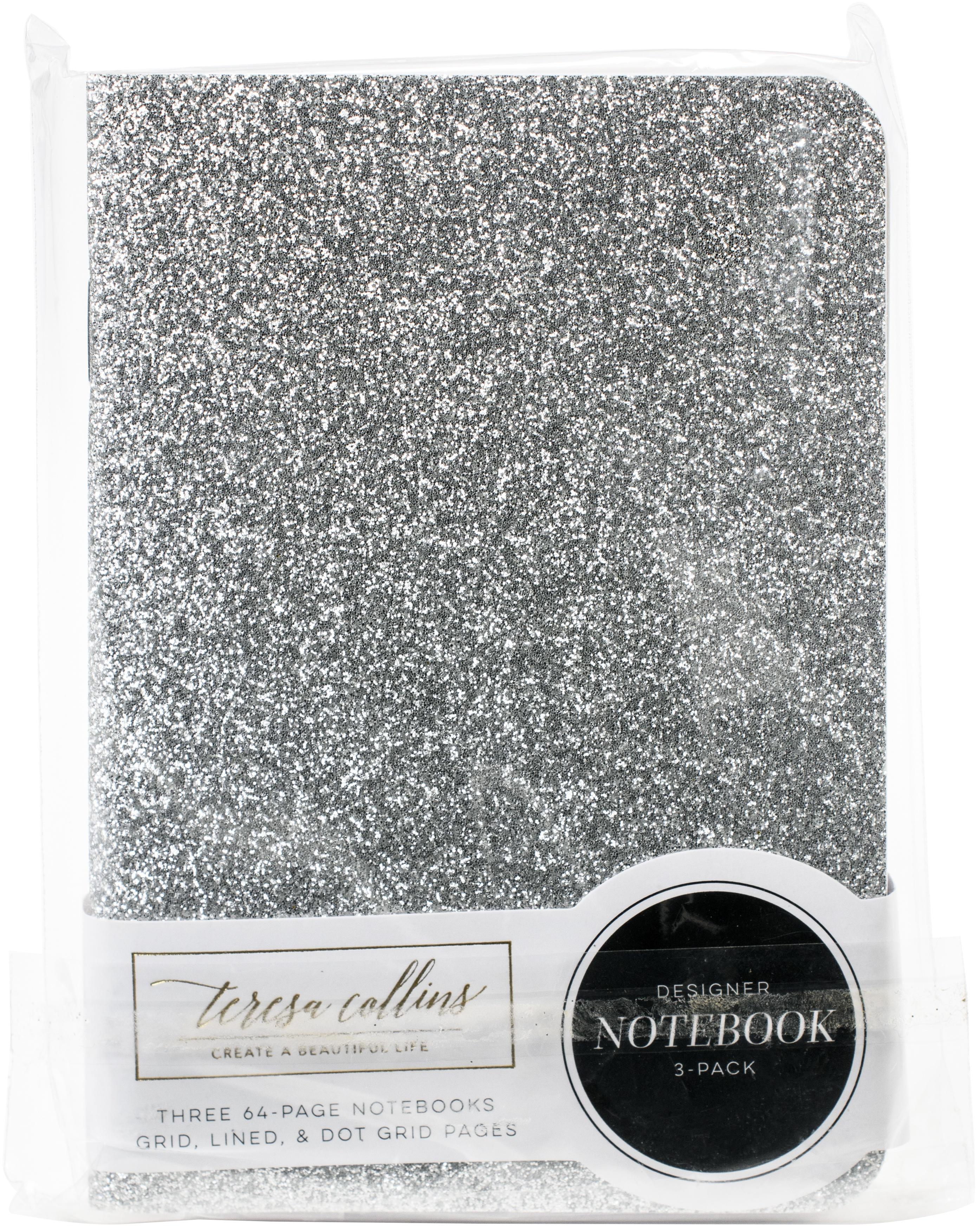 Teresa Collins Passport Notebooks Set 3.5X5 3/Pkg-Happy Thoughts