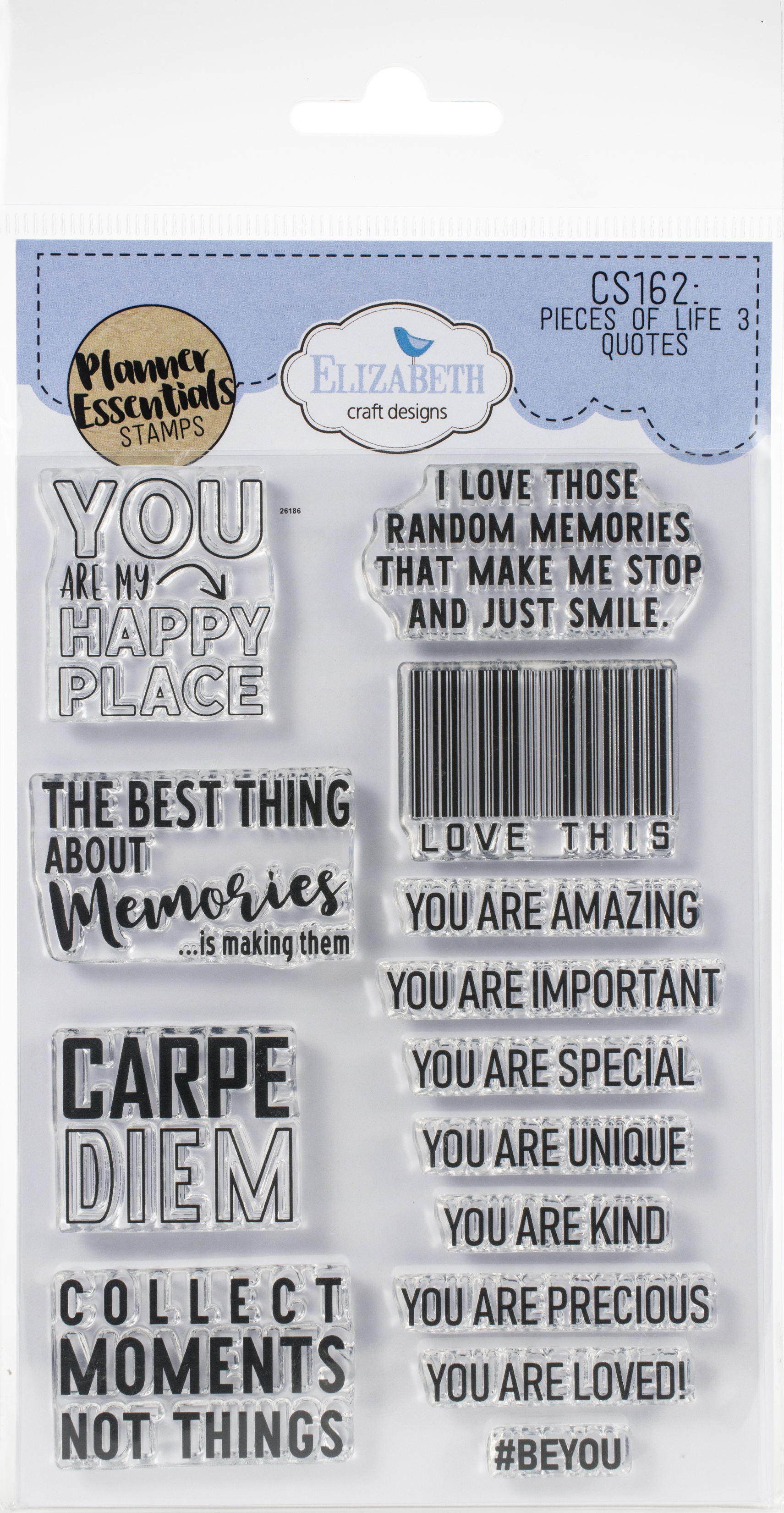 ECD Clear Stamps-Quotes