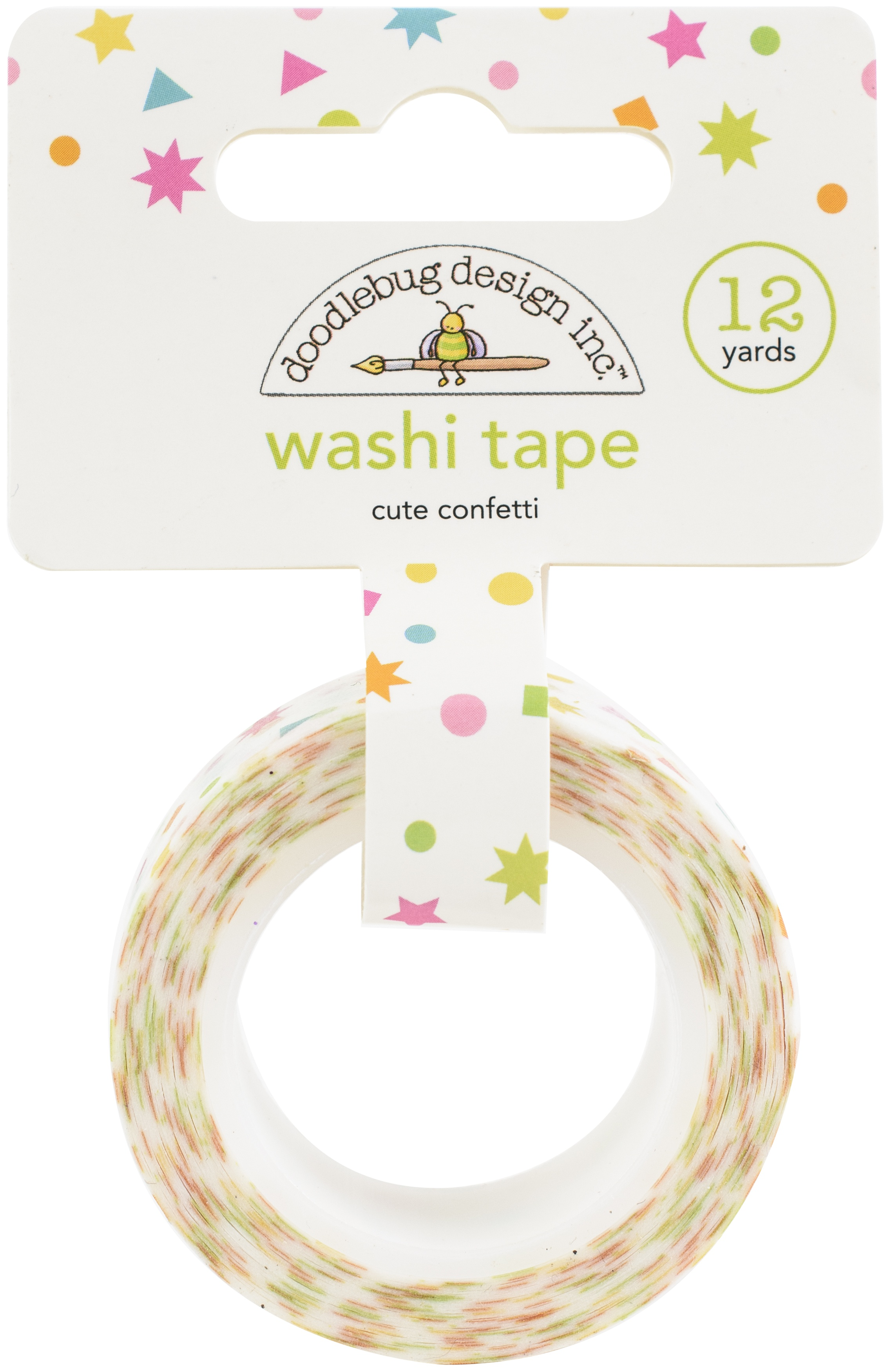 Hey Cupcake Cute Confetti Washi