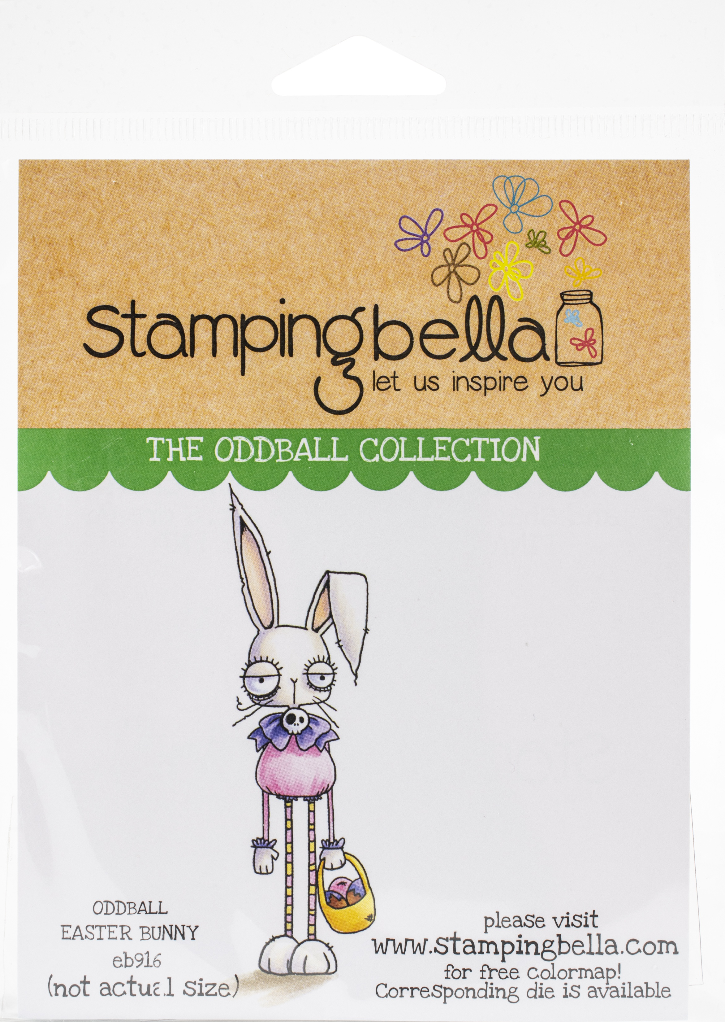 Stamping Bella Cling Stamps - Oddball Easter Bunny