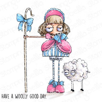 Stamping Bella Cling Stamps-Oddball Little Bo Peep