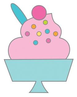 Doodlebug Collectible Enamel Pin-Sweet Sundae, Hey Cupcake