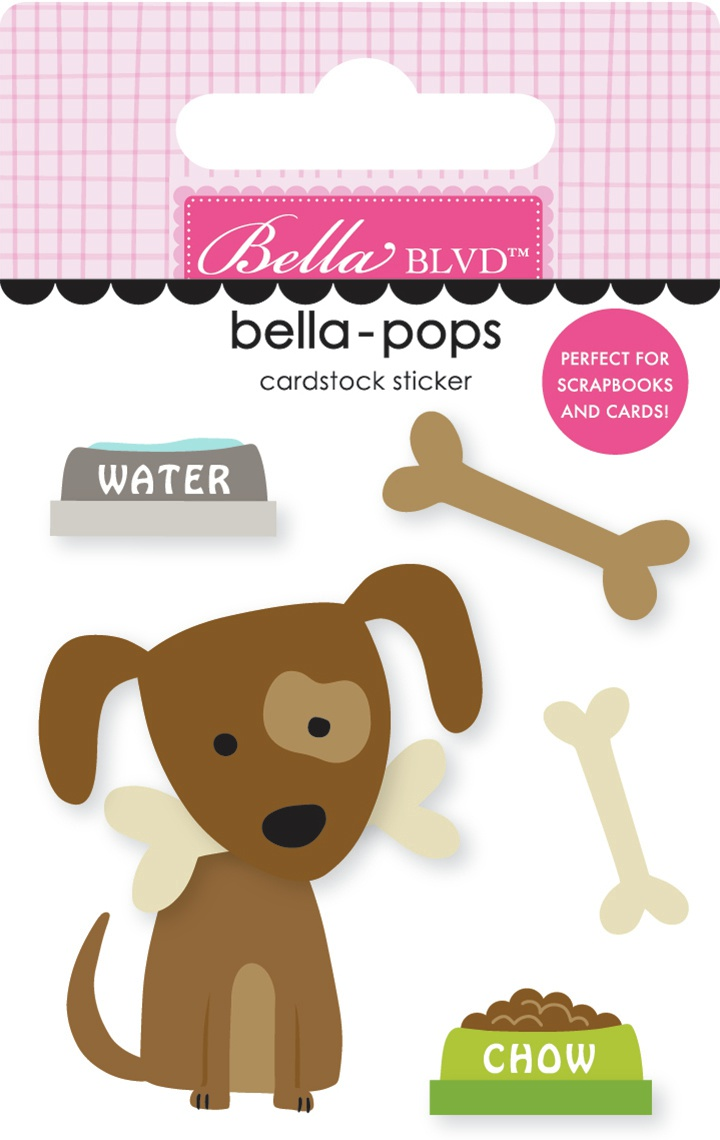 Cooper Bella-Pops 3d Stickers-Cooper