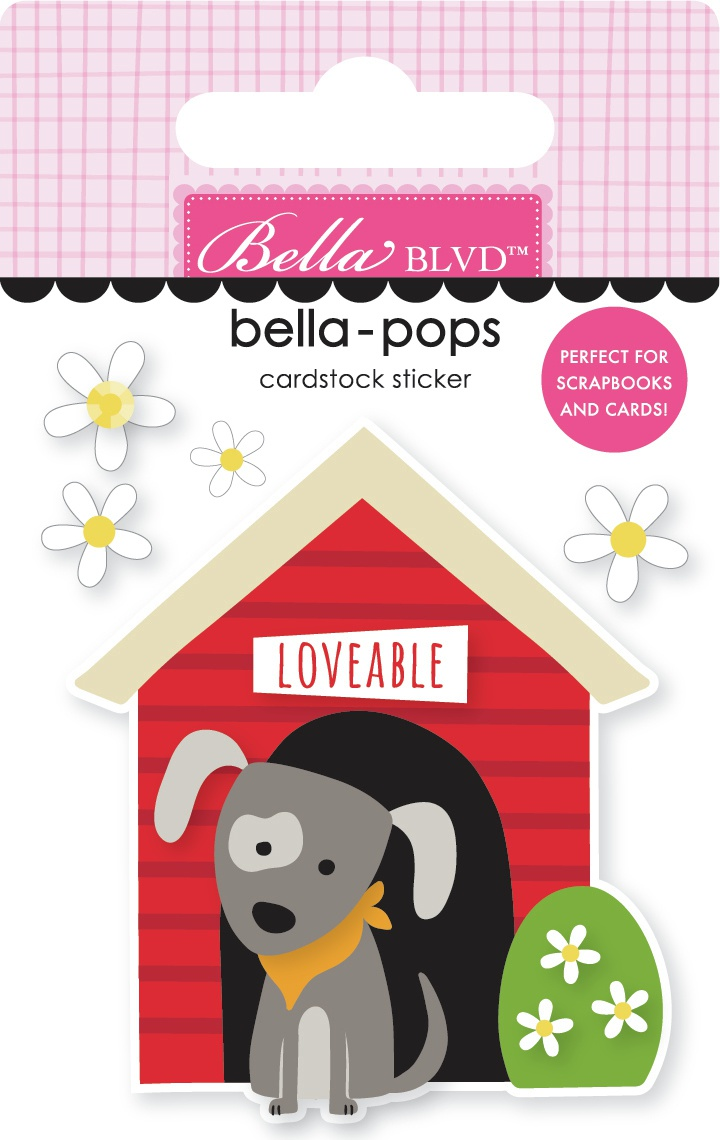 Cooper Bella-Pops 3d Stickers-Doghouse